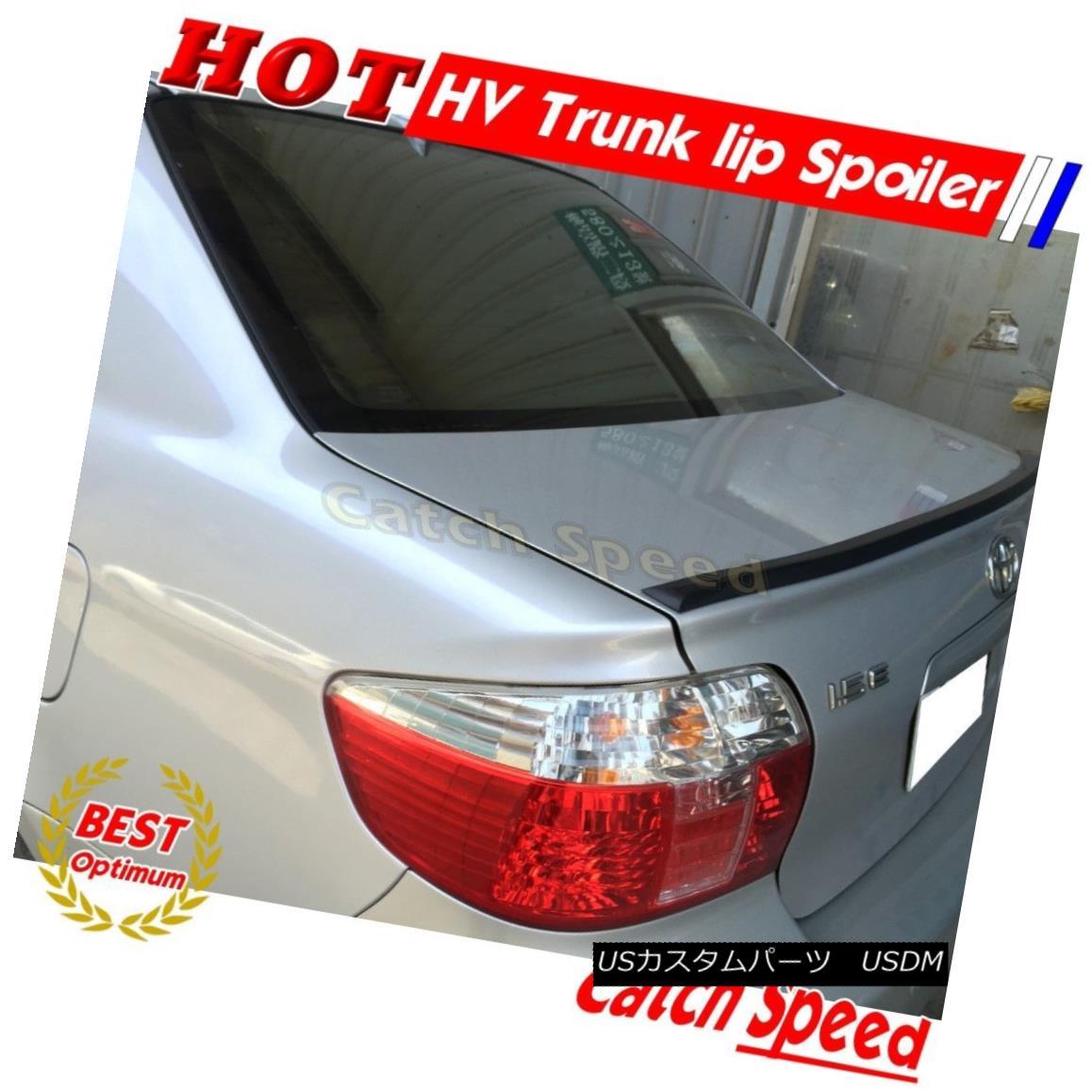 エアロパーツ Flat Black HV Type Rear Boot Trunk Lip Spoiler For Acura CL 2001 02 03 Coupe ? フラットブラックHVタイプリアブーツトランクリップスポイラーアキュラCL 2001 02 03クーペ?