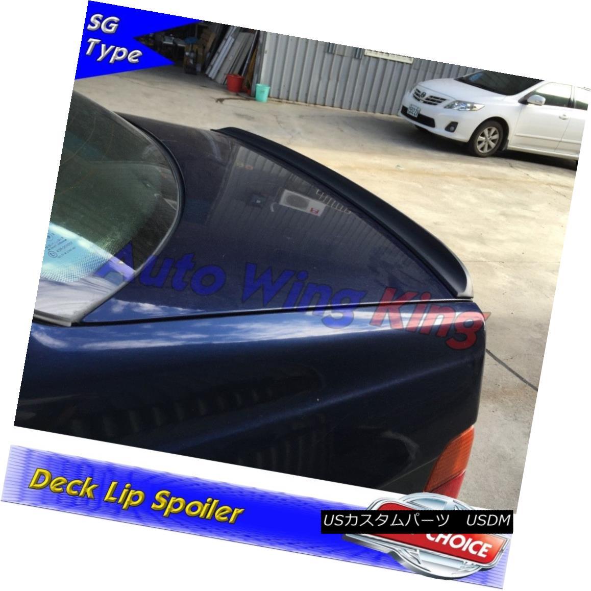エアロパーツ Painted 244SG Type Trunk Lip Spoiler For Mercedes-Benz CLS W219 Sedan 2004~10 メルセデスベンツCLS W219セダン用塗装244SGタイプトランクリップスポイラー2004?10