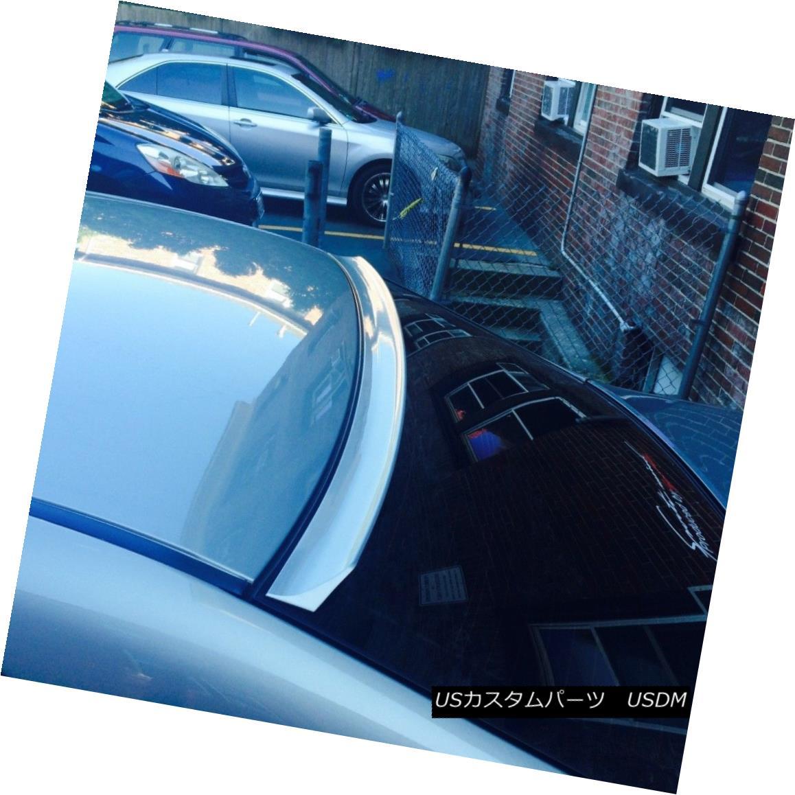 エアロパーツ Painted LRS Style Rear Roof Spoiler Wing For Dodge Avenger Sedan 2012 - 2014 ? ドッジアベンジャーセダン2012 - 2014のための塗装LRSスタイルのリアルーフスポイラーウィング?