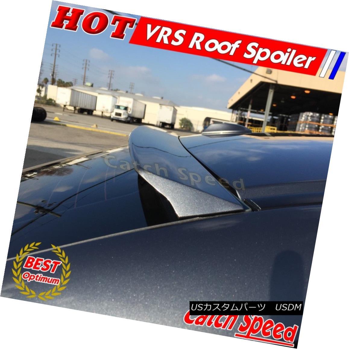 エアロパーツ Flat Black VRS Type Rear Roof Spoiler Wing For NISSAN TEANA II J32 2009-14 Sedan 日産TEANA II用フラットブラックVRSタイプリアルーフスポイラーウイングJ32 2009-14セダン