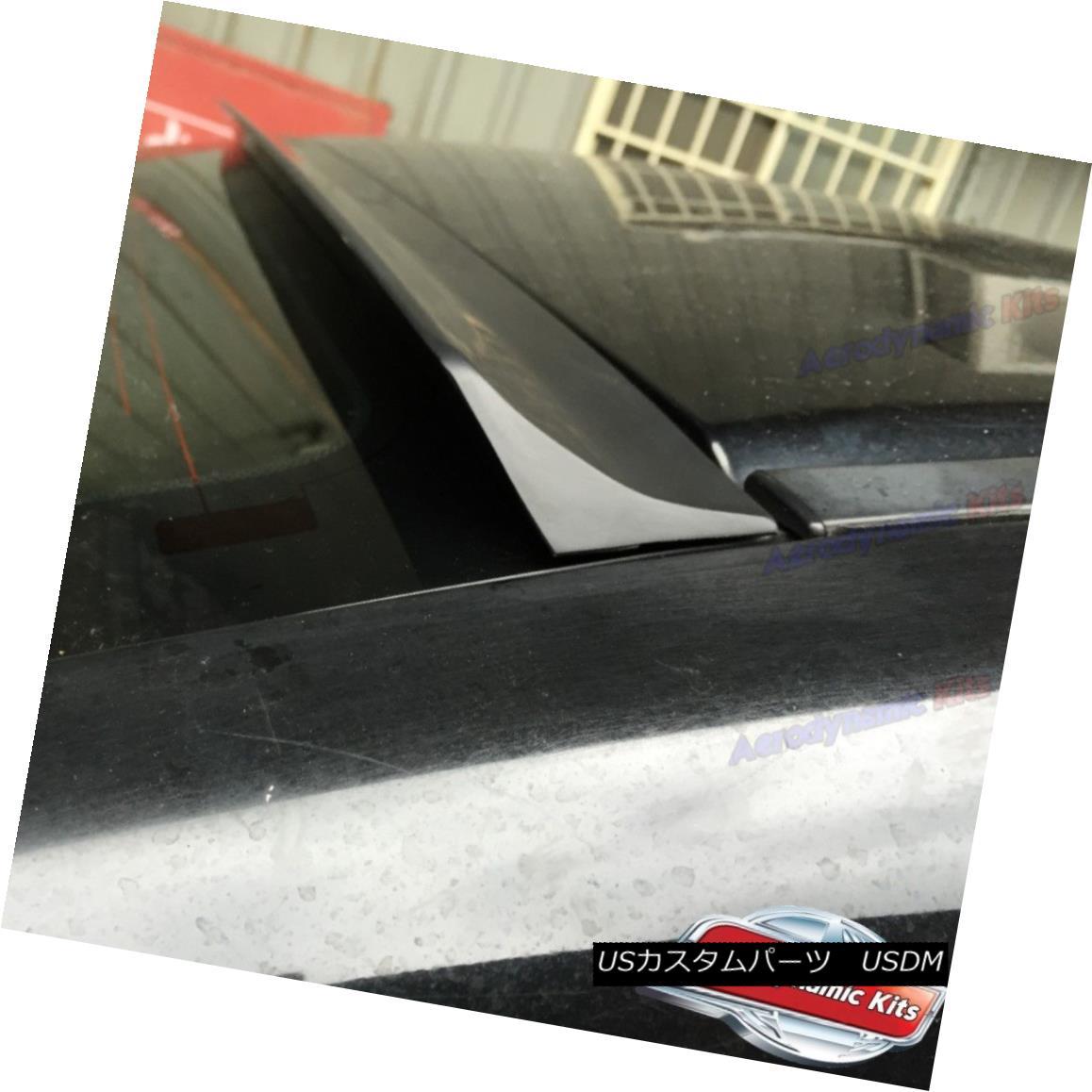 エアロパーツ Flat Black LRS Type Rear Roof Spoiler Wing For Infiniti M35 M45 2005-10 Sedan ? インフィニティ用フラットブラックLRSタイプリアルーフスポイラーウィングM35 M45 2005-10セダン?