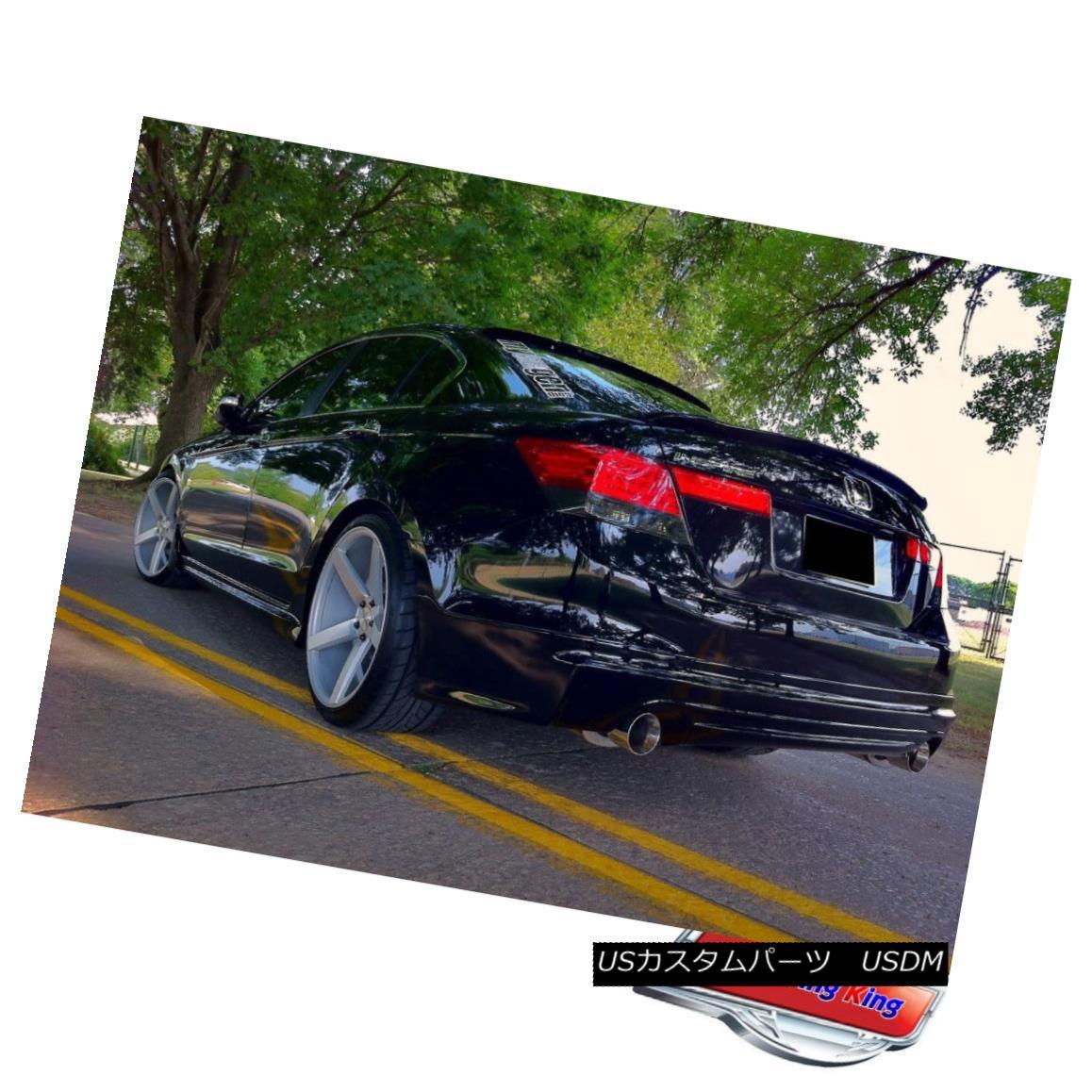 エアロパーツ HOT! Painted Honda Accord Sedan 2008~2012 Roof Spoiler + M Type Trunk Spoiler ? ホット! 塗装ホンダアコードセダン2008?2012ルーフスポイラー+ Mタイプのトランク・スポイラー?