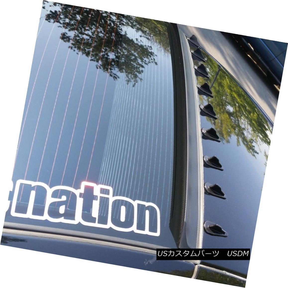 エアロパーツ Flat Black LRS Type Rear Roof Spoiler Wing For Holden WM Caprice Sedan 2006-10 ? フラットブラックLRSタイプリアルーフスポイラーウイングホールデンWMカプリスセダン2006-10?