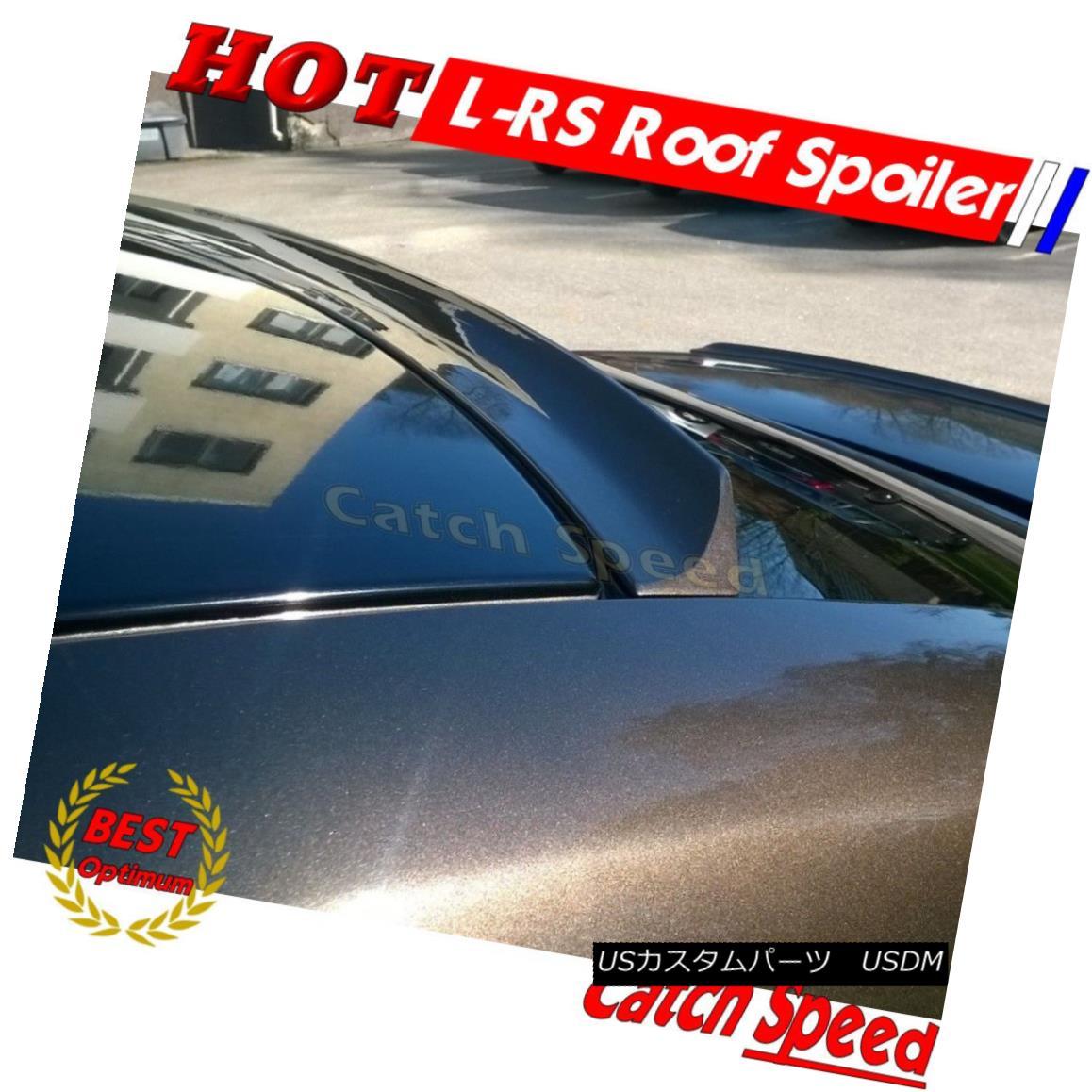 エアロパーツ Flat Black LRS Rear Roof Spoiler Wing For Lexus IS250 220 350 2006-13 Sedan ? フラットブラックLRSリアルーフスポイラーウィングレクサスIS250 220 350 2006-13セダン?