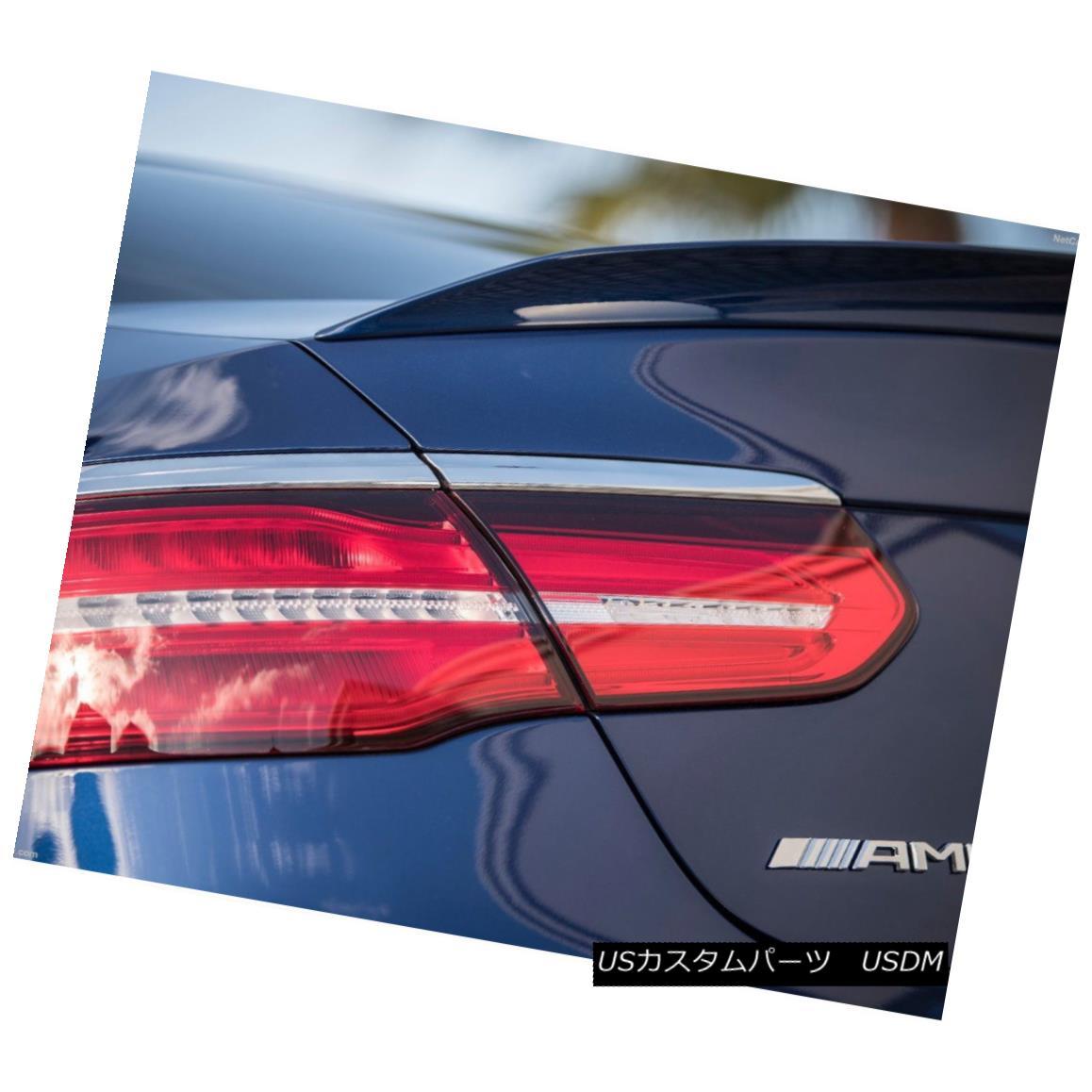 エアロパーツ Unpainted ABS A Look Trunk Spoiler Wing For M-Benz GLC class C253 Coupe 4-door M-Benz GLCクラスC253クーペ4ドア用無塗装ABSルックトランク・スポイラー・ウィング
