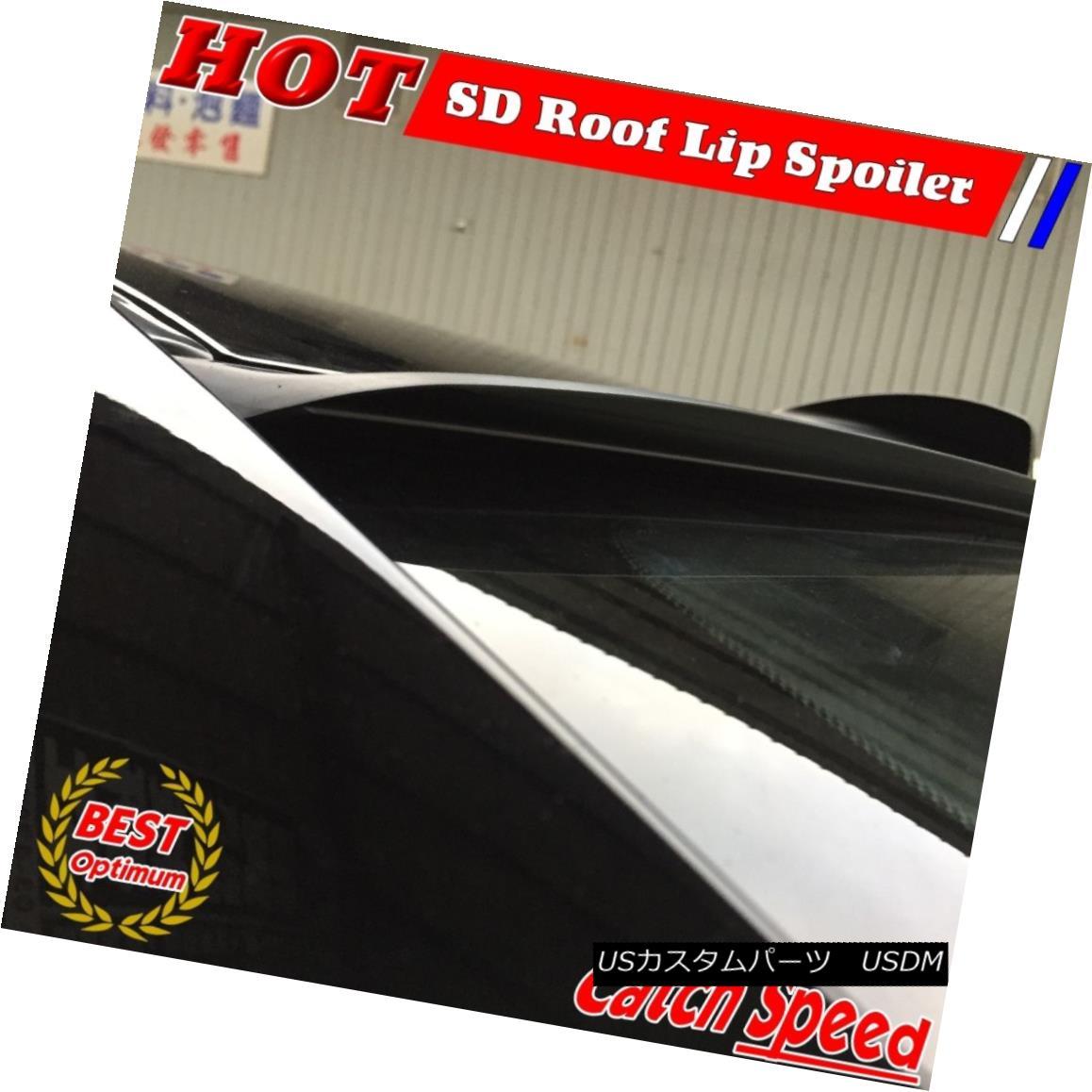 エアロパーツ Flat Black SD Style Rear Window Roof Spoiler Wing For 2006 ~2011 Acura CSX Sedan フラットブラックSDスタイルリアウィンドウルーフスポイラーウイング2006?2011アキュラCSXセダン