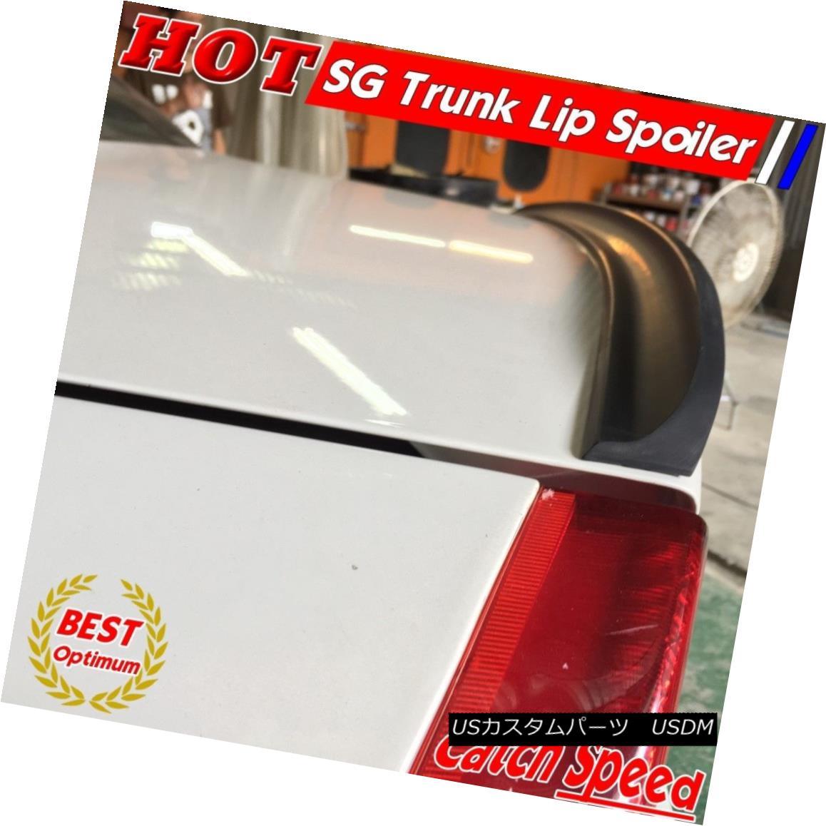 エアロパーツ Flat Black SG Type Trunk Spoiler Wing For BMW 7-Series F01 Sedan 2009~11 ? フラットブラックSGタイプトランクスポイラーウィングBMW 7シリーズF01セダン2009?11?