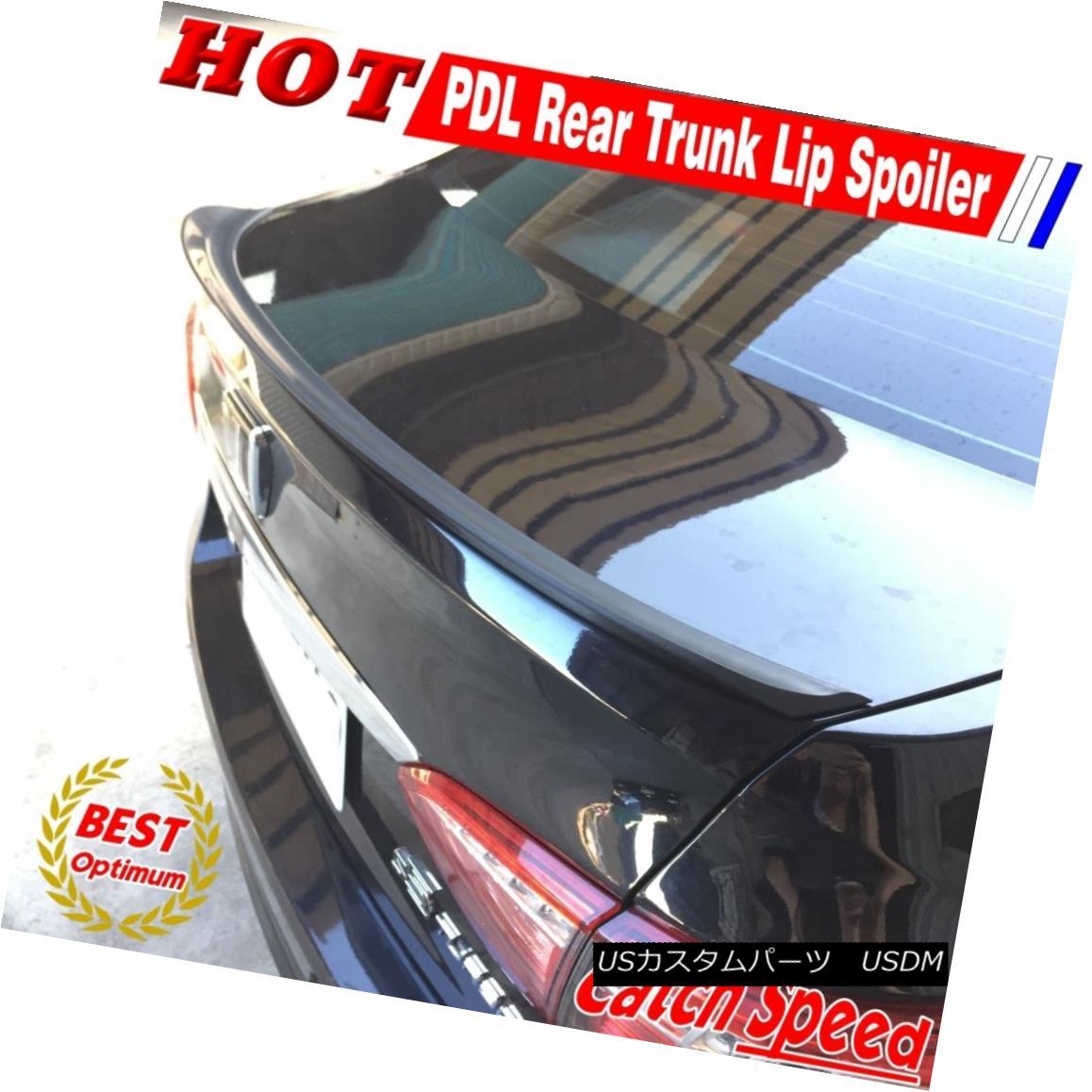 エアロパーツ Flat Black P Type Trunk Spoiler Wing For BMW 5-Series E39 Sedan 1997~2003 BMW 5シリーズE39セダン用フラットブラックPタイプトランク・スポイラー・ウィング1997?2003