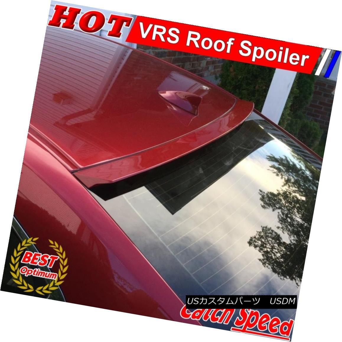 エアロパーツ Flat Black VRS Style Rear Roof Spoiler Win For Chevrolet Cavalier 1995-05 Sdean シボレーキャバリアのフラットブラックVRSスタイルリアルーフスポイラー獲得1995-05セダン