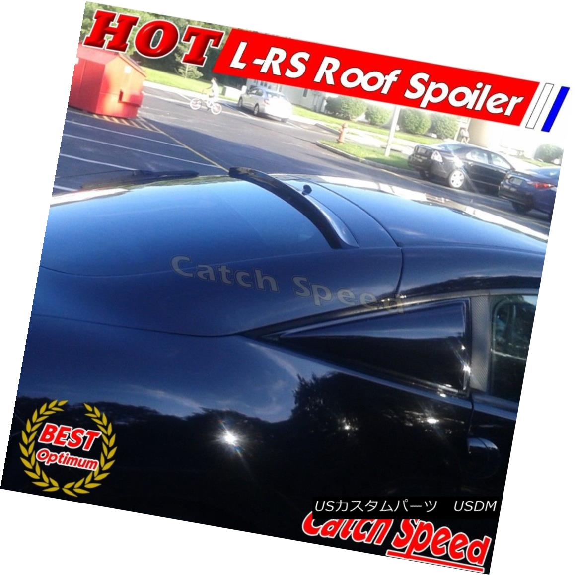 エアロパーツ Flat Black LRS Type Rear Roof Spoiler Wing For Hyundai Sonata YF 2011-13 Sedan ? 現代ソナタ用フラットブラックLRSタイプリアルーフスポイラーウイングYF 2011-13セダン?