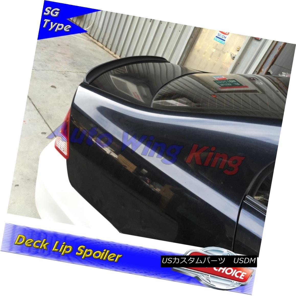 エアロパーツ Flat Black SG Rear Trunk Lip Spoiler For Mercedes-Benz E W124 Sedan 1986~95 ? フラットブラックSGリアトランクリップスポイラーメルセデスベンツE W124セダン1986年?95?