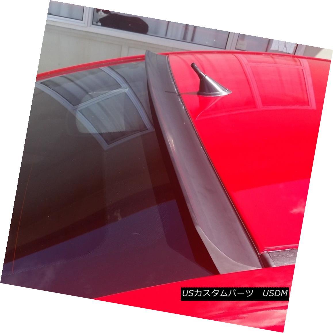 エアロパーツ Flat Black New 284L Rear Roof Spoiler Wing For Mercedes Benz E-class C207 Coupe メルセデスベンツEクラスC207クーペのフラットブラック新284Lリアルーフスポイラーウィング