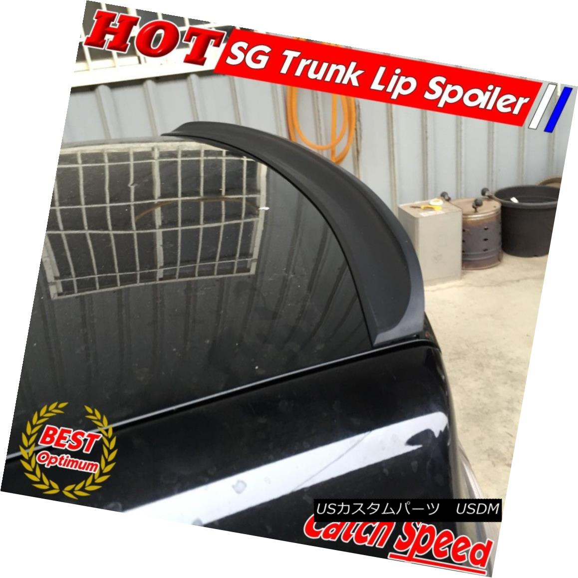 エアロパーツ Flat Black SG Type Rear Trunk Spoiler Wing For Honda Civic 2006-2011 Coupe ? ホンダシビック2006-2011クーペのフラットブラックSGタイプのリアトランク・スポイラー・ウイング?