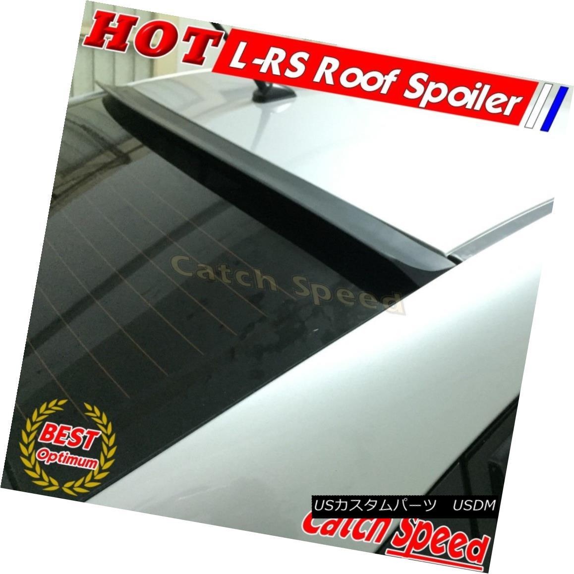 エアロパーツ Flat Black LRS Style Rear Roof Spoiler Wing For Chevrolet Malibu 8th 2013-2015 ? シボレーマリブのフラットブラックLRSスタイルリアルーフスポイラーウイング8th 2013-2015?
