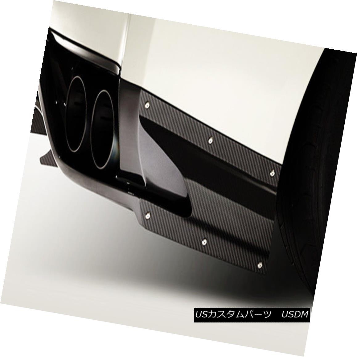 エアロパーツ Rear Side Air Shroud For Nissan GTR R35 (Only Fit 2013 Ver VA Diffuser) Carbon 日産GTR R35用リアサイドエアシュラウド(2013年版Ver VAディフューザのみ)カーボン
