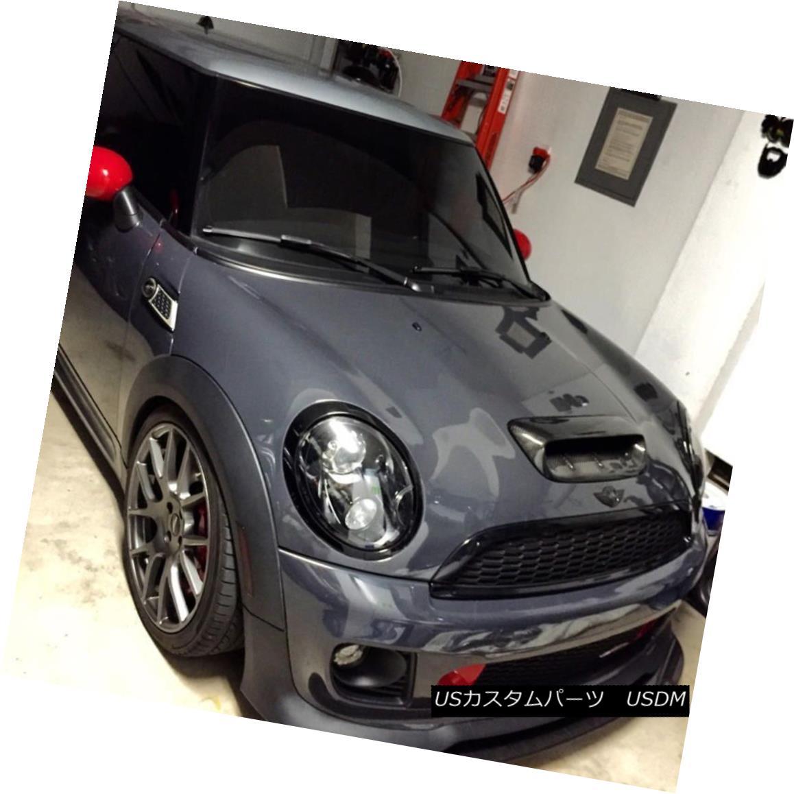 エアロパーツ For Mini Cooper S R56 2007~2014 Type A Hood Scoop Exterior Add on Carbon Fiber ミニクーパーS R56 2007?2014タイプAフードスクープエクステリアカーボンファイバー