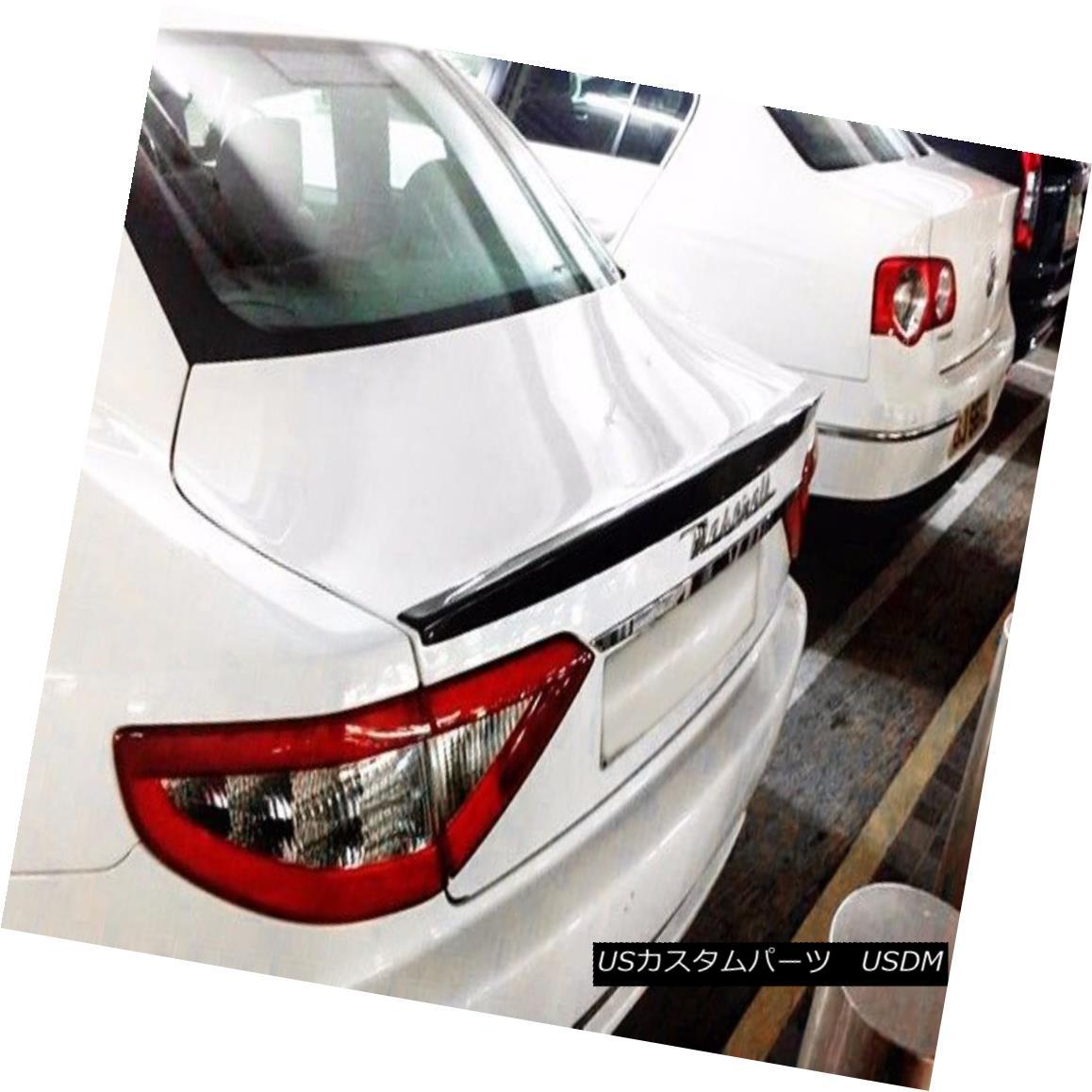 エアロパーツ AER Carbon Fiber Rear Trunk Boot Spoiler For Maserati Gran Turismo MC Sport Line マセラティGranturismo MCスポーツラインのためのAERカーボンファイバーリアトランクブートスポイラー