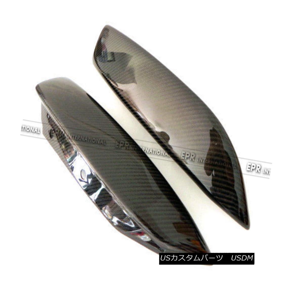エアロパーツ AER For Hyundai Genesis Rohens Coupe 09 Rear Bumper Spat Add on Kit Carbon Fiber Hyundai GenesisのAER for Roenes Coupe 09リアバンパースパットキットに追加カーボンファイバー