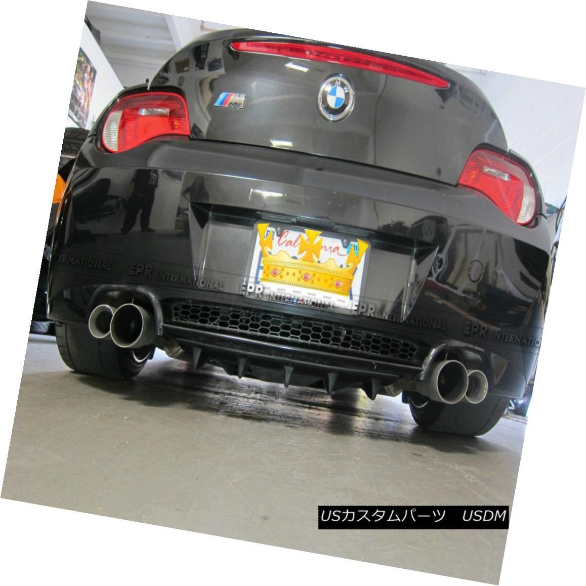 エアロパーツ AER Rear Bumper Diffuser Lip 02-08 For BMW E85 E86 Z4 Z4M Roadster Carbon Fiber AERリアバンパーディフューザリップ02-08 BMW E85 E86 Z4 Z4Mロードスターカーボンファイバー