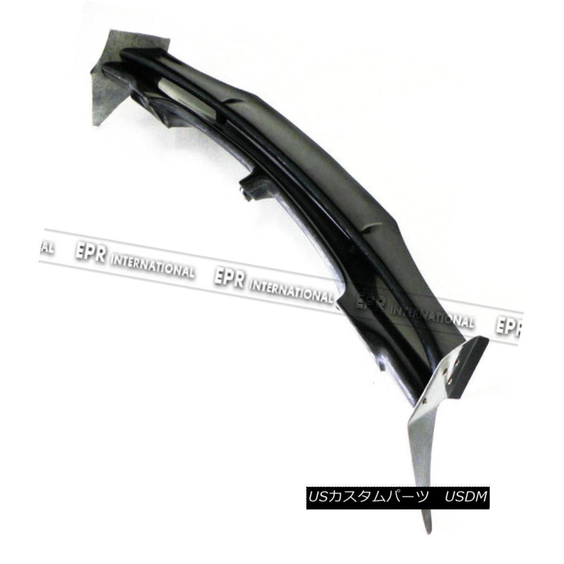 エアロパーツ AER 4pcs Rear Roof Spoiler Lip For Mini Cooper 06-13 S R56 D-AG Style Carbon FRP ミニクーパー用AER 4pcsリアルーフスポイラーリップ06-13 S R56 D-AGスタイルカーボンFRP