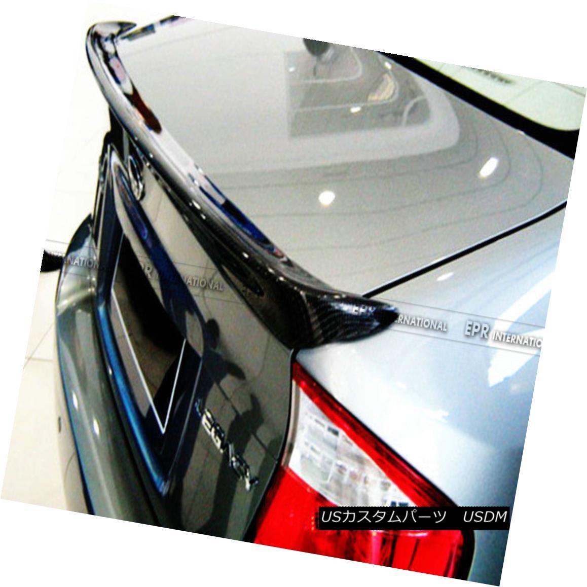 エアロパーツ AER Rear Trunk Spoiler Ducktail Wing For Subaru BL BP 04-08 Legacy Carbon Fiber AERリアトランクスポイラーDucktailウィングforスバルBL BP 04-08レガシーカーボンファイバー