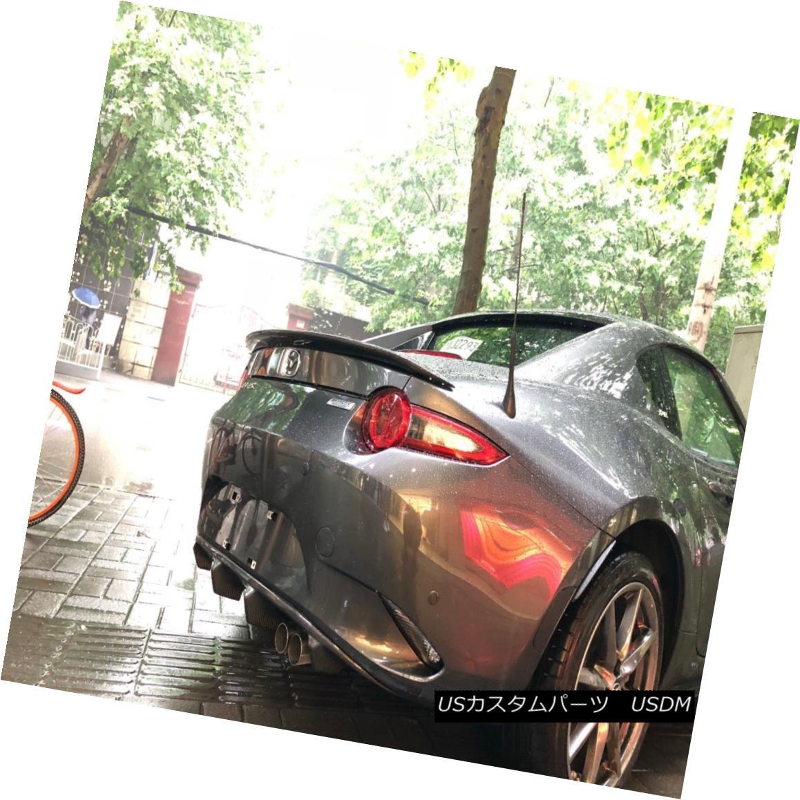エアロパーツ Rear Bumper Diffuser For Mazda MX5 ND5RC Miata Roadster FA Style Carbon Fiber マツダMX5 ND5RC MiataロードスターFAスタイルカーボンファイバーのリアバンパーディフューザー