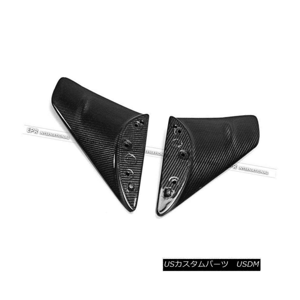 エアロパーツ Rear Spoiler Legs 2Pcs For Nissan Skyline R35 GTR OE Style Carbon Fiber リアスポイラーレッグ2個(日産スカイラインR35 GTR OEスタイルカーボンファイバー用)