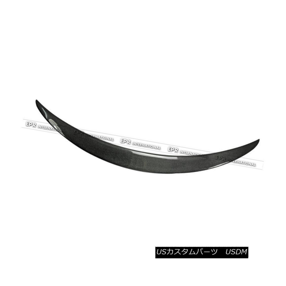 エアロパーツ Rear Trunk Spoiler Wing For W205 C Class C200 C250 Coupe A Style Carbon Fiber W205 CクラスC200 C250クーペAスタイルカーボンファイバー用リアトランク・スポイラー・ウイング