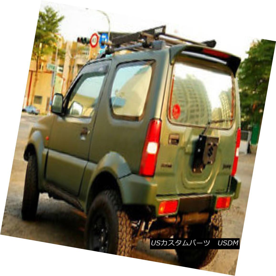 エアロパーツ JAS Style Rear Bumper Kit For Suzuki Jimny JB23 JB33 JB43 JB53 FRP Fiber スズキジムニー用JASスタイルリアバンパーキットJB23 JB33 JB43 JB53 FRPファイバー