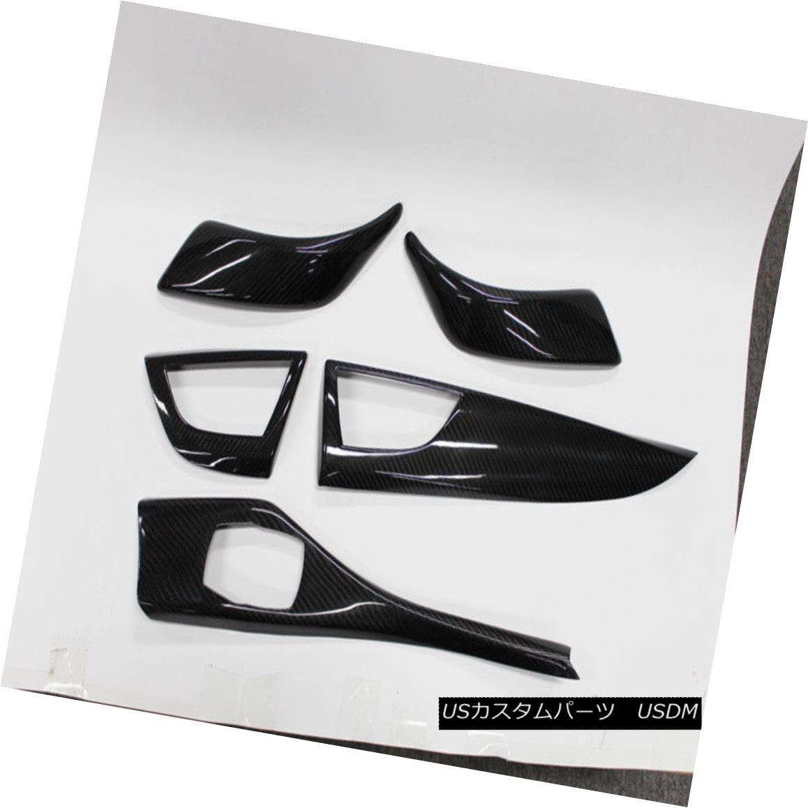 エアロパーツ For BMW 1 Series F20 F21 High Model Carbon Inner Dash Trim Cover Refit LHD 7PCS BMW 1シリーズF20 F21ハイモデルカーボンインナーダッシュトリムカバーLHD 7PCS用