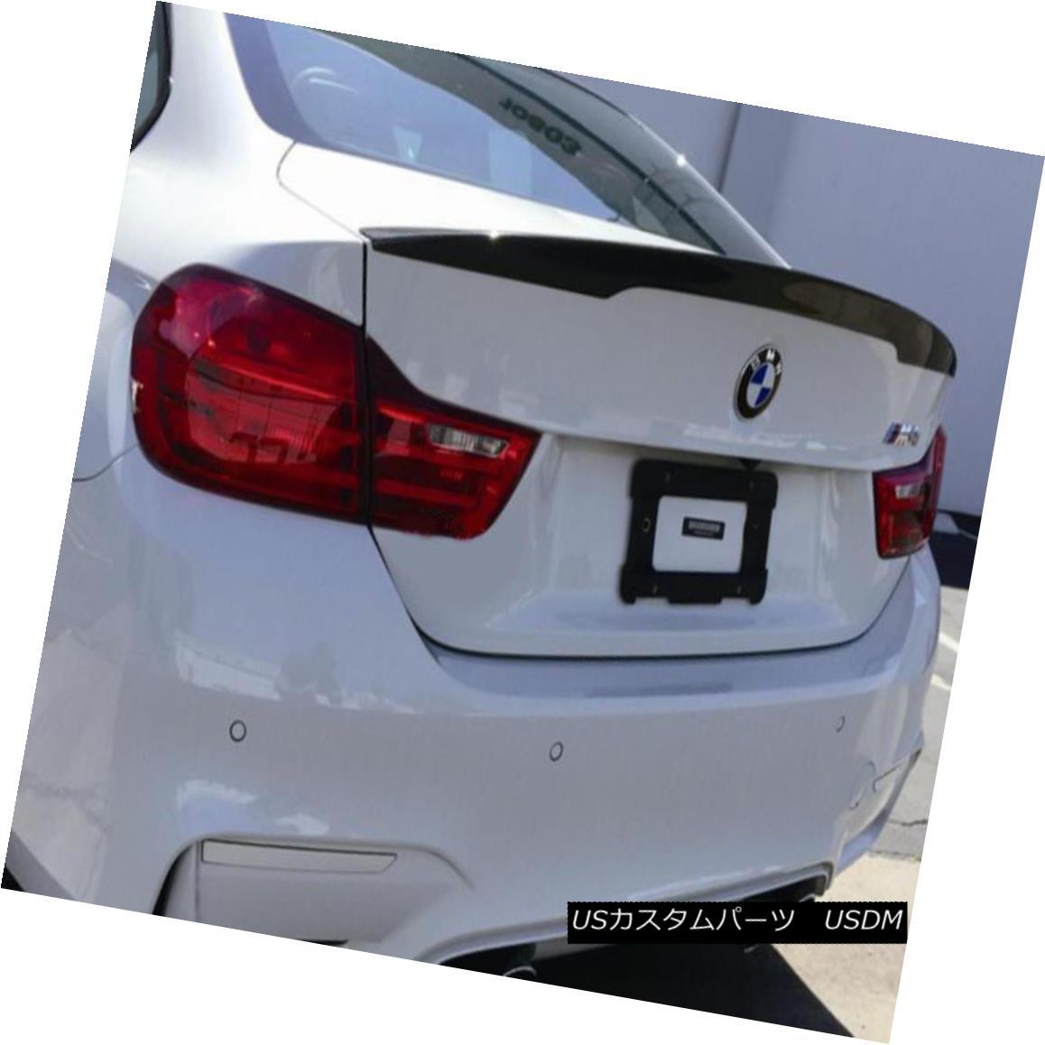 エアロパーツ Rear Trunk Spoiler Wing Boot Lip Kit For BMW F82 F83 M4 V Style Carbon Fiber 後部トランクスポイラーウィングブーツリップキットfor BMW F82 F83 M4 Vスタイルカーボンファイバー