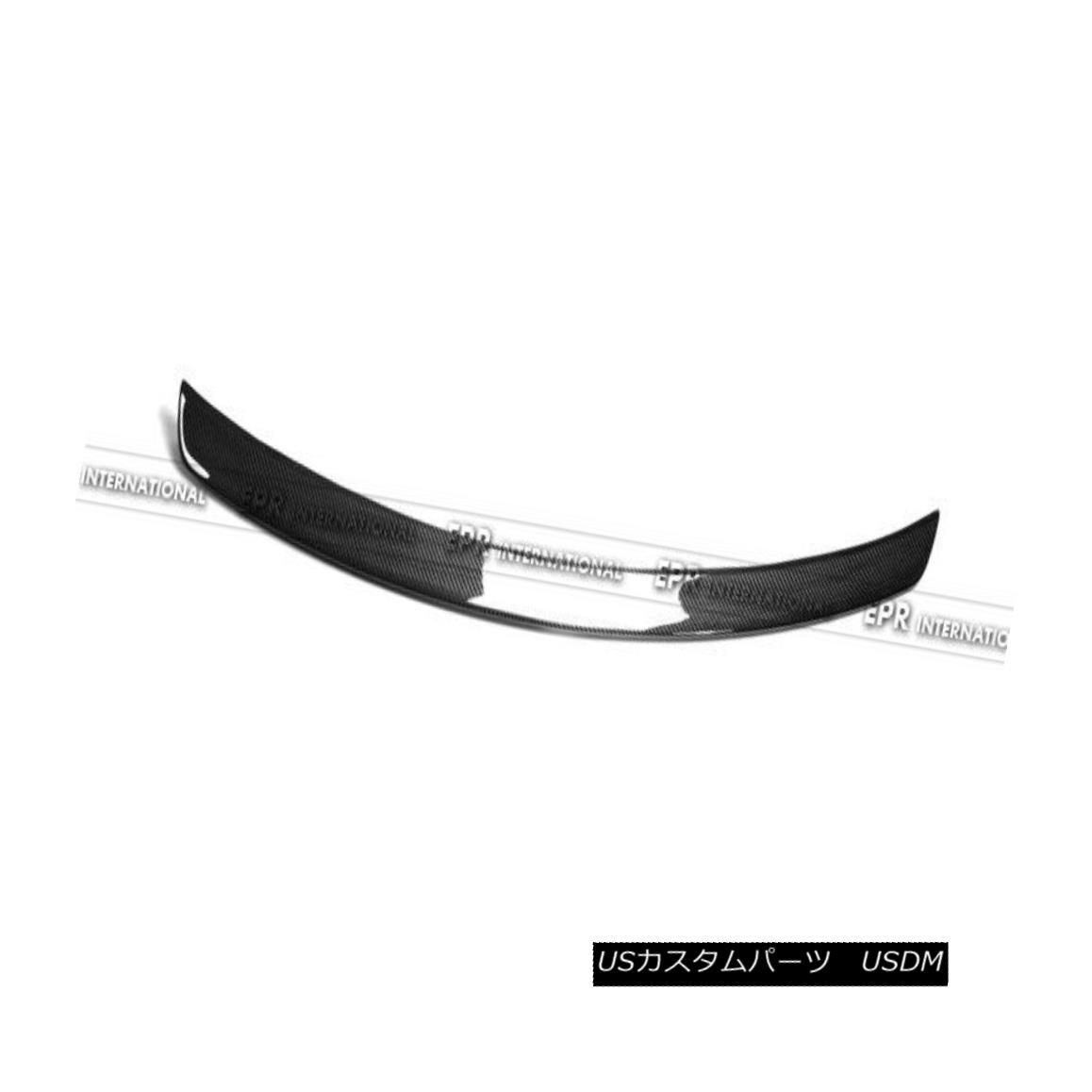 エアロパーツ ABC Rear Trunk Spoiler Wing Lip For MERCEDES BENZ W218 CLS AMGG Carbon Fiber メルセデスベンツW218 CLS AMGカーボンファイバーのためのABCリアトランクスポイラーウィングリップ
