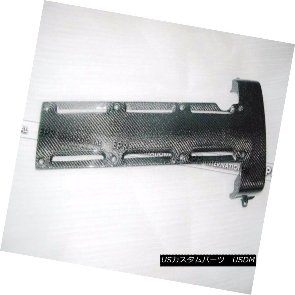 エアロパーツ Carbon Fiber Engine Coil Pack Plug Cover For Toyota MK4 Supra 2JZ NON VVTI Parts トヨタMK4スーパー2JZ非VVTI部品の炭素繊維エンジンコイルパックのプラグカバー