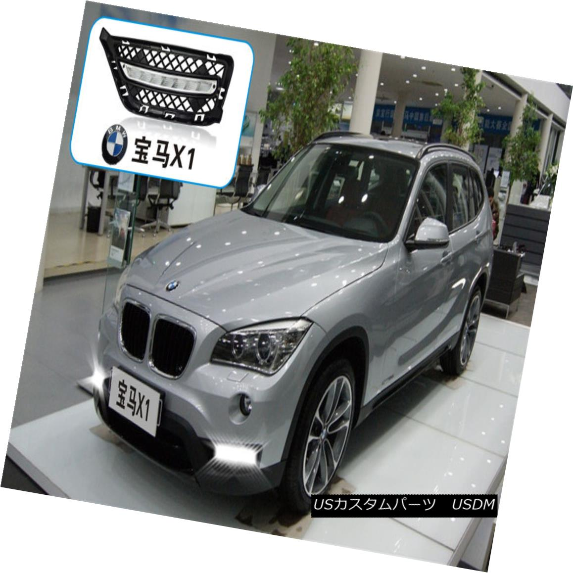 エアロパーツ DRL LED Driving Daylight Daytime Running Lights/Lamp For BMW X1 2013-2015 BMW X1 2013-2015用DRL LED昼間昼間走行灯/ランプの駆動