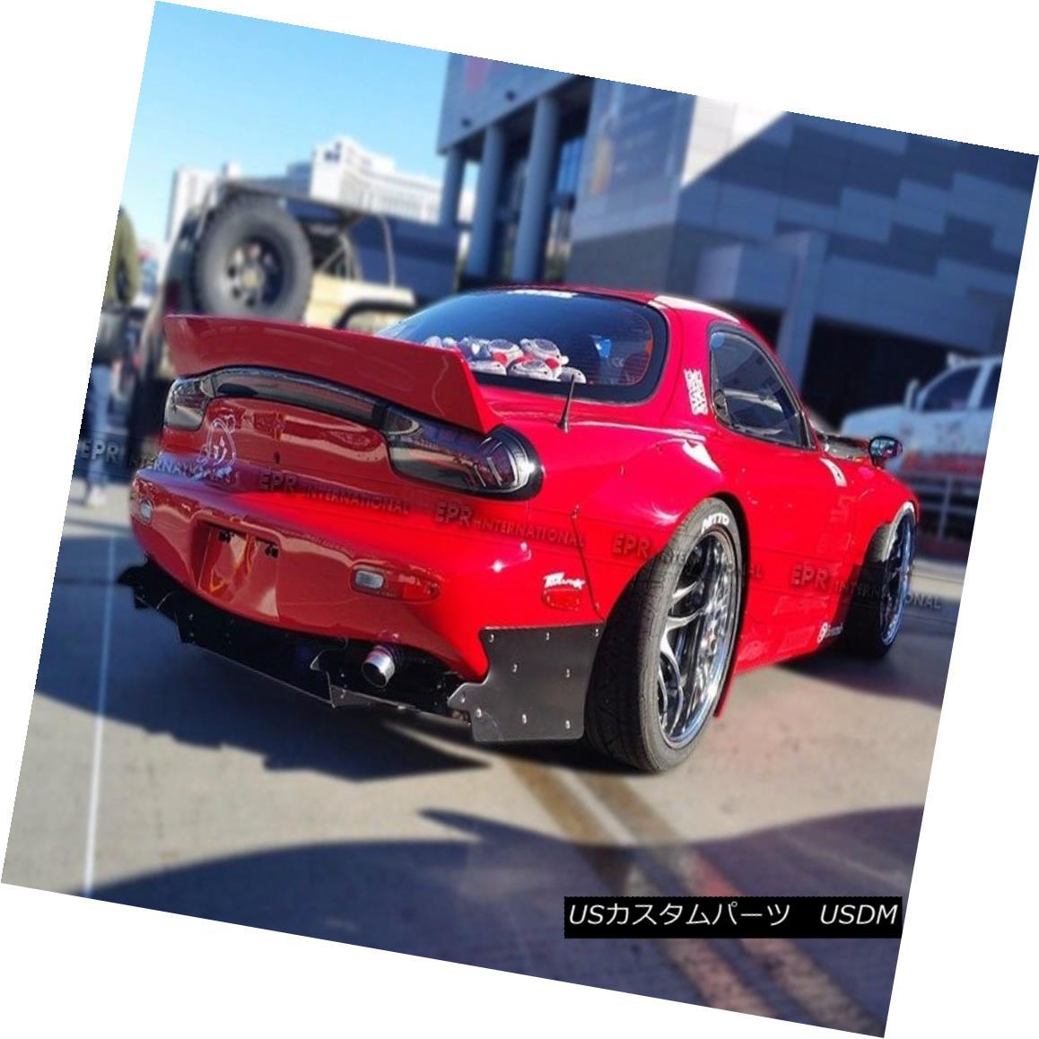 エアロパーツ For Mazda RX7 FD3S FRP Fiber Rear Under Diffuser Lip Lip Exterior Kit RB Style マツダRX7 FD3S FRPファイバーリアディフューザリップリップエクステリアキットRBスタイル用