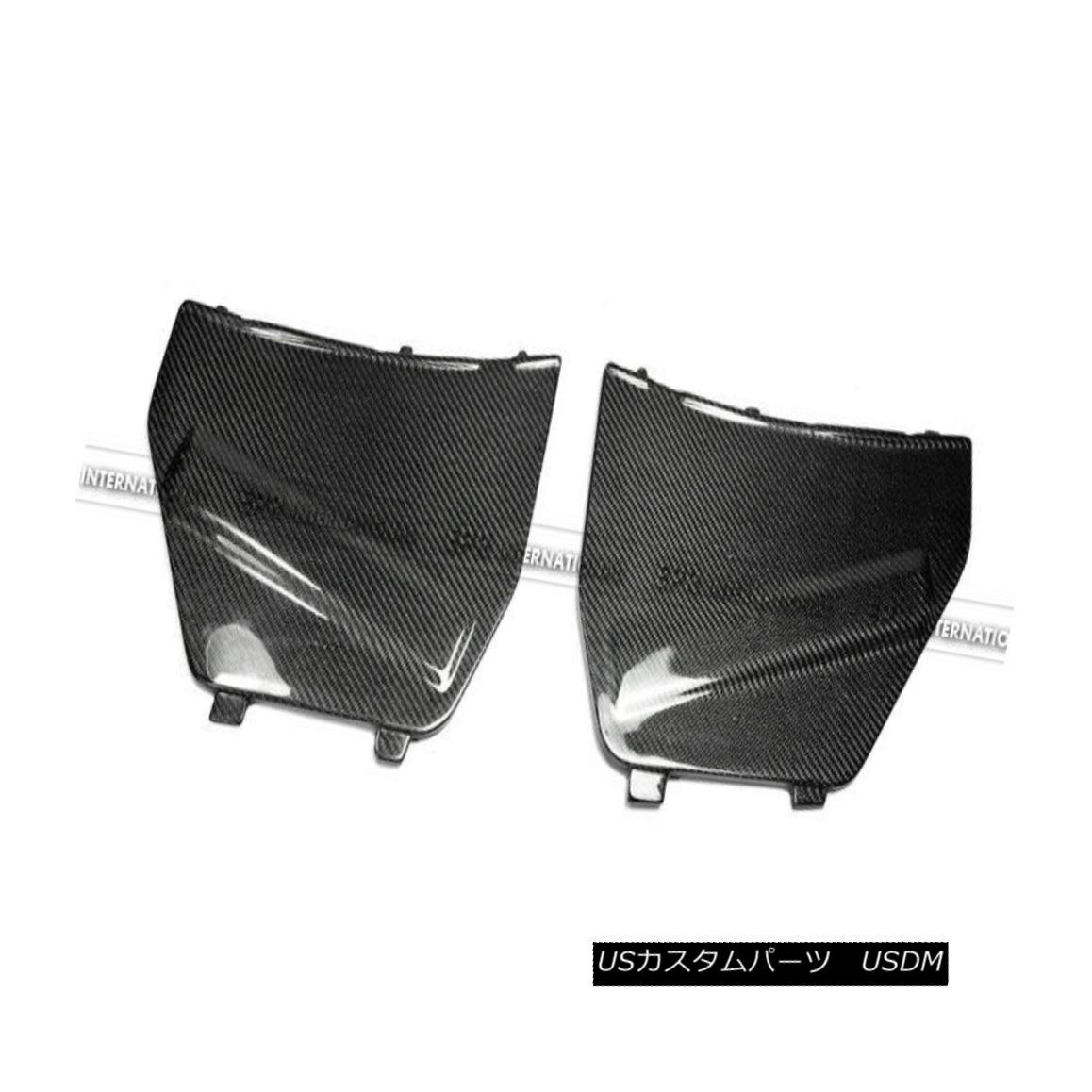 エアロパーツ ABC 2Pcs Battery Cover Cap Protecter Kits For Nissan R35 GTR GT-R Carbon Fiber 日産R35 GTR GT-R炭素繊維のためのABC 2Pcsバッテリーカバーキャッププロテクターキット