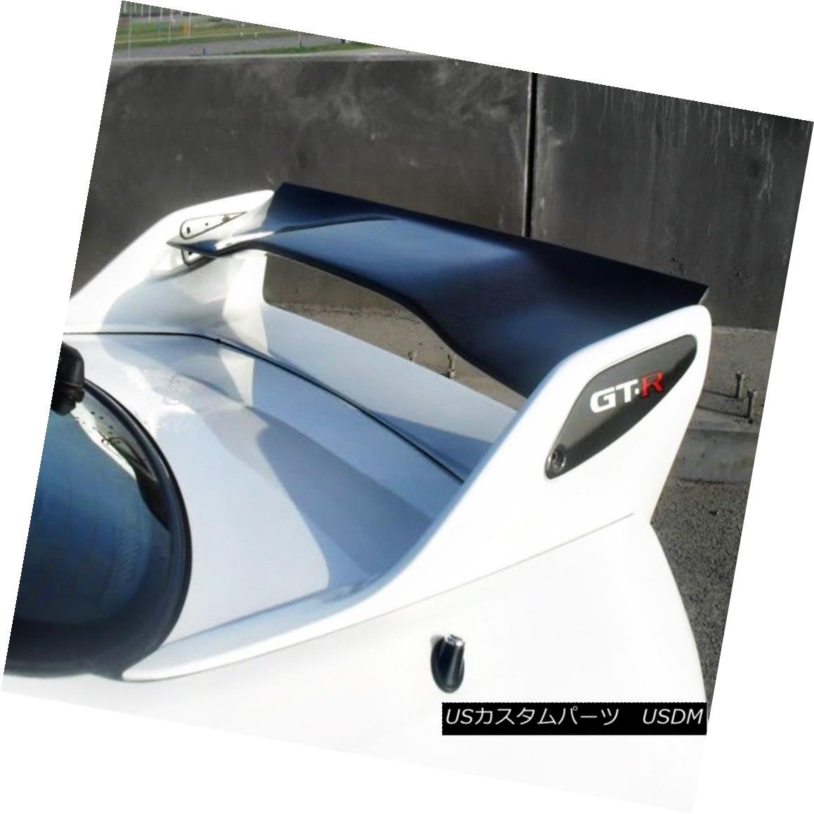 エアロパーツ Rear Spoiler Blade Wing For Nissan Skyline R33 GTR AS Shibi Devil Carbon Fiber 日産スカイラインR33 GTR AS用シビデビルカーボンファイバー用リアスポイラーブレードウィング