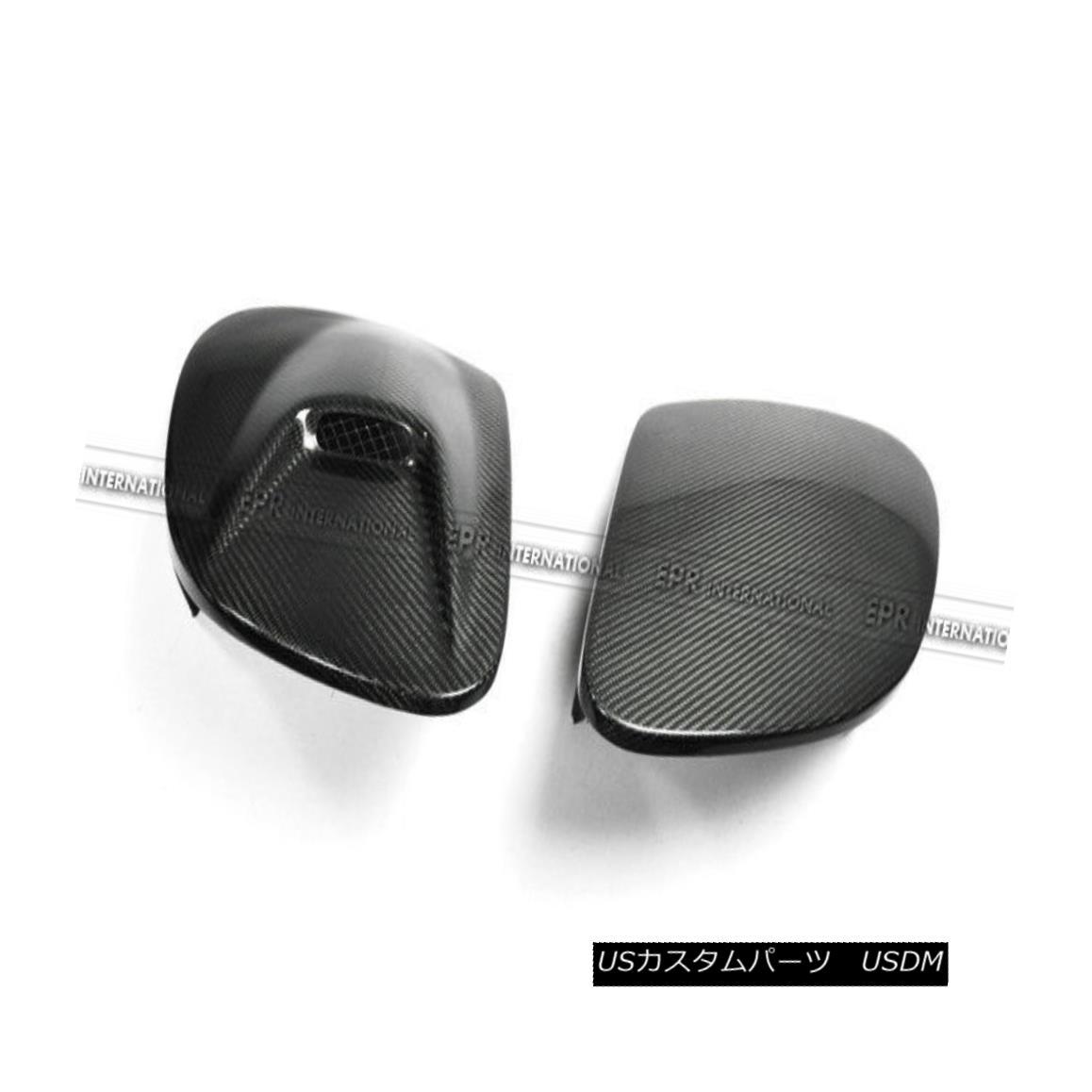 エアロパーツ ABC 2PCS ONLY RHS Vented ) Headlight Covers For Mazda RX7 FD3S Carbon Fiber NACA ABC 2PCSのみリーブベント)マツダRX7 FD3S炭素繊維NACA用ヘッドライトカバー