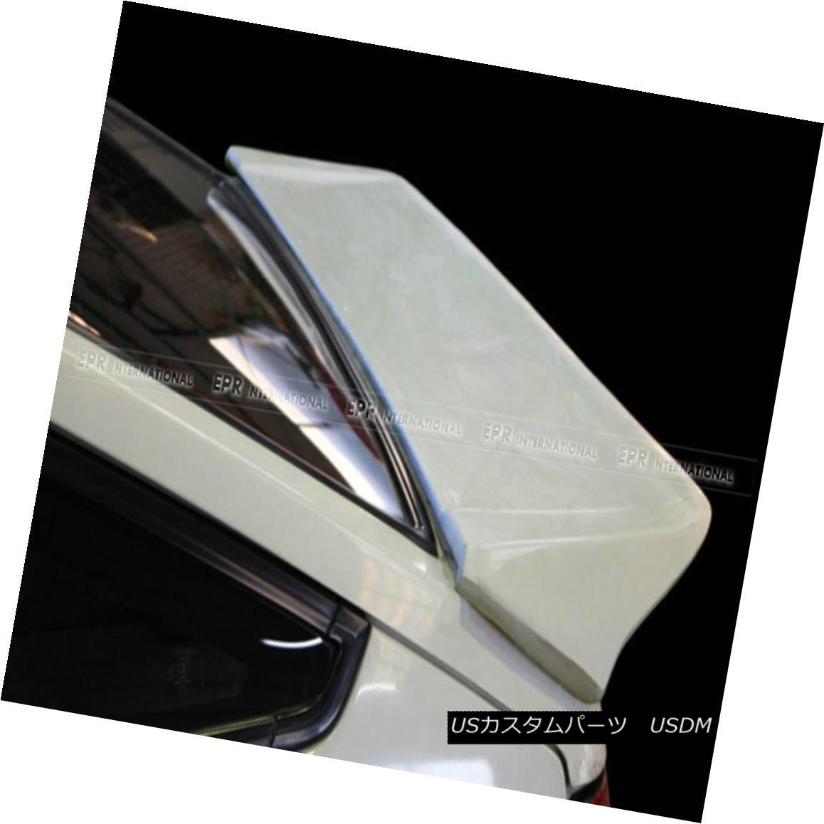 エアロパーツ ABC For AE86 Levin Corolla Hatchback Rear Trunk Spoiler Boot Wing DM Type FRP ABC For AE86レビンカローラハッチバックリアトランクスポイラーブーツウィングDMタイプFRP
