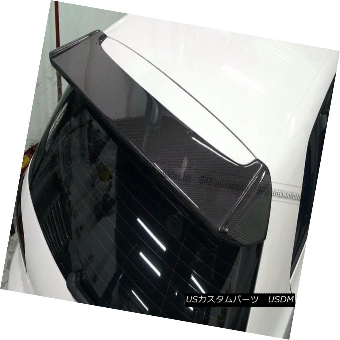 エアロパーツ For Volkswagen VW Golf 6 MK6 GTI Carbon Fiber Ors Style Rear Spoiler Wing Kit フォルクスワーゲンVWゴルフ6 MK6 GTIカーボンファイバーOrsスタイルリアスポイラーウイングキット