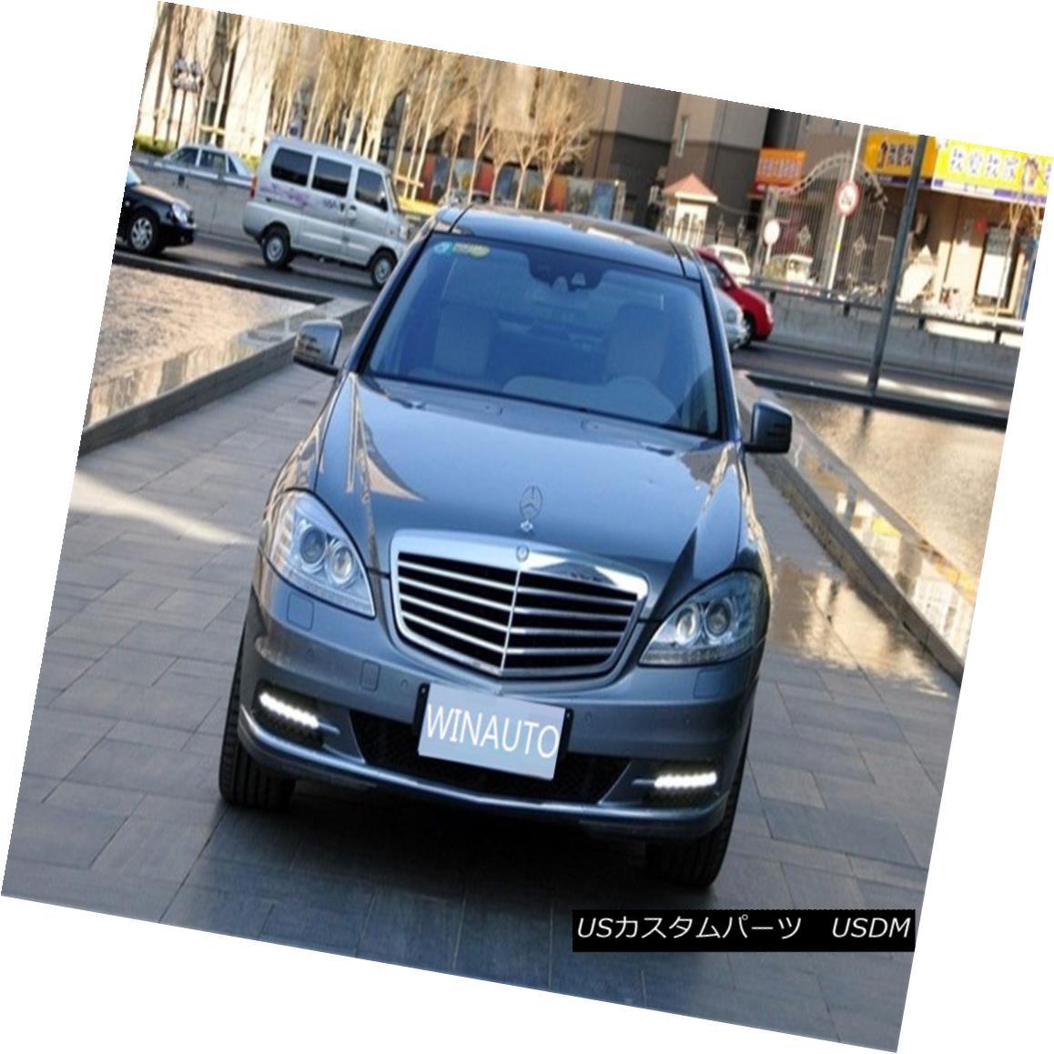 エアロパーツ 09-12 For Benz S Class W221 S300 S350 S500 S600 LED DRL Daytime Running Light 09-12ベンツSクラスW221 S300 S350 S500 S600 LED DRLデイタイムランニングライト