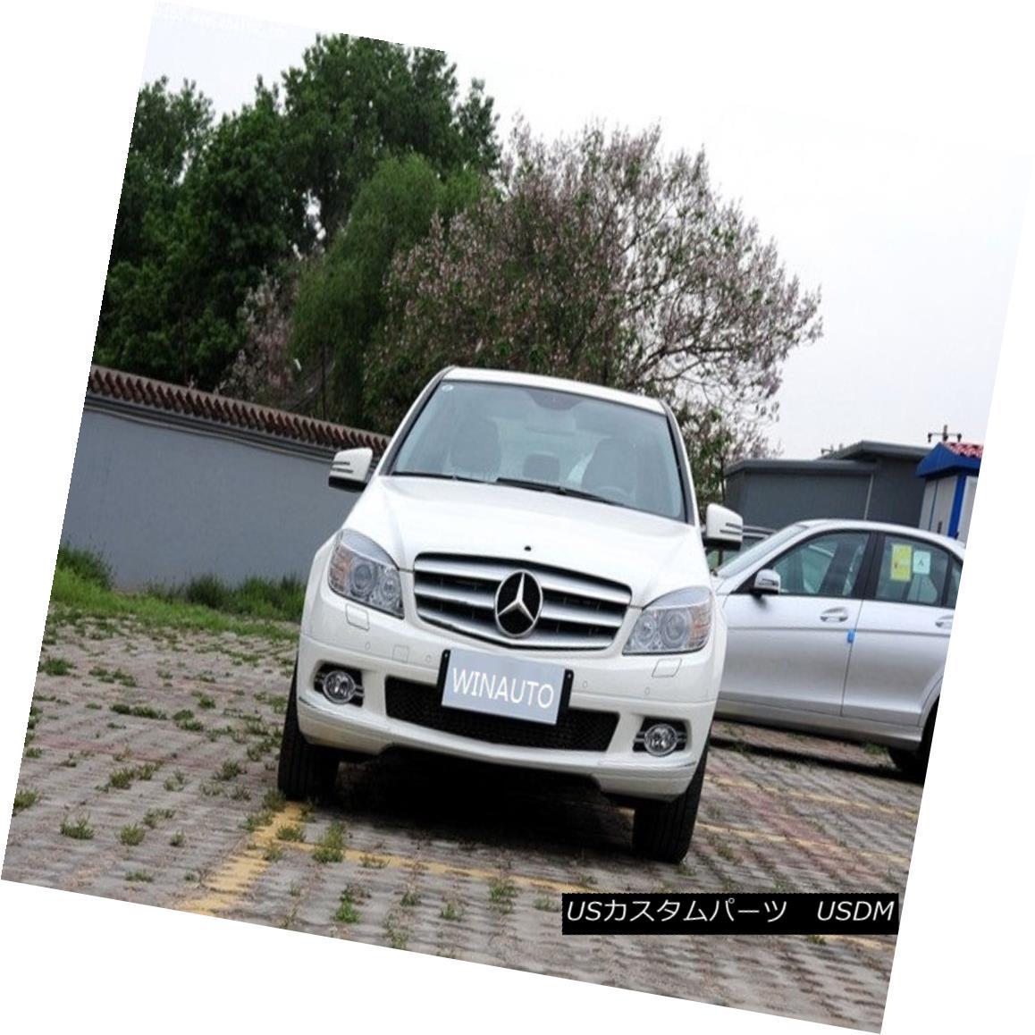 エアロパーツ DRL Parts LED Driving Daytime Running Light For Benz W204 C200 C260 C300 08-10 DRLパーツベンツW204 C200 C260 C300 08-10用昼間走行灯を駆動するLED