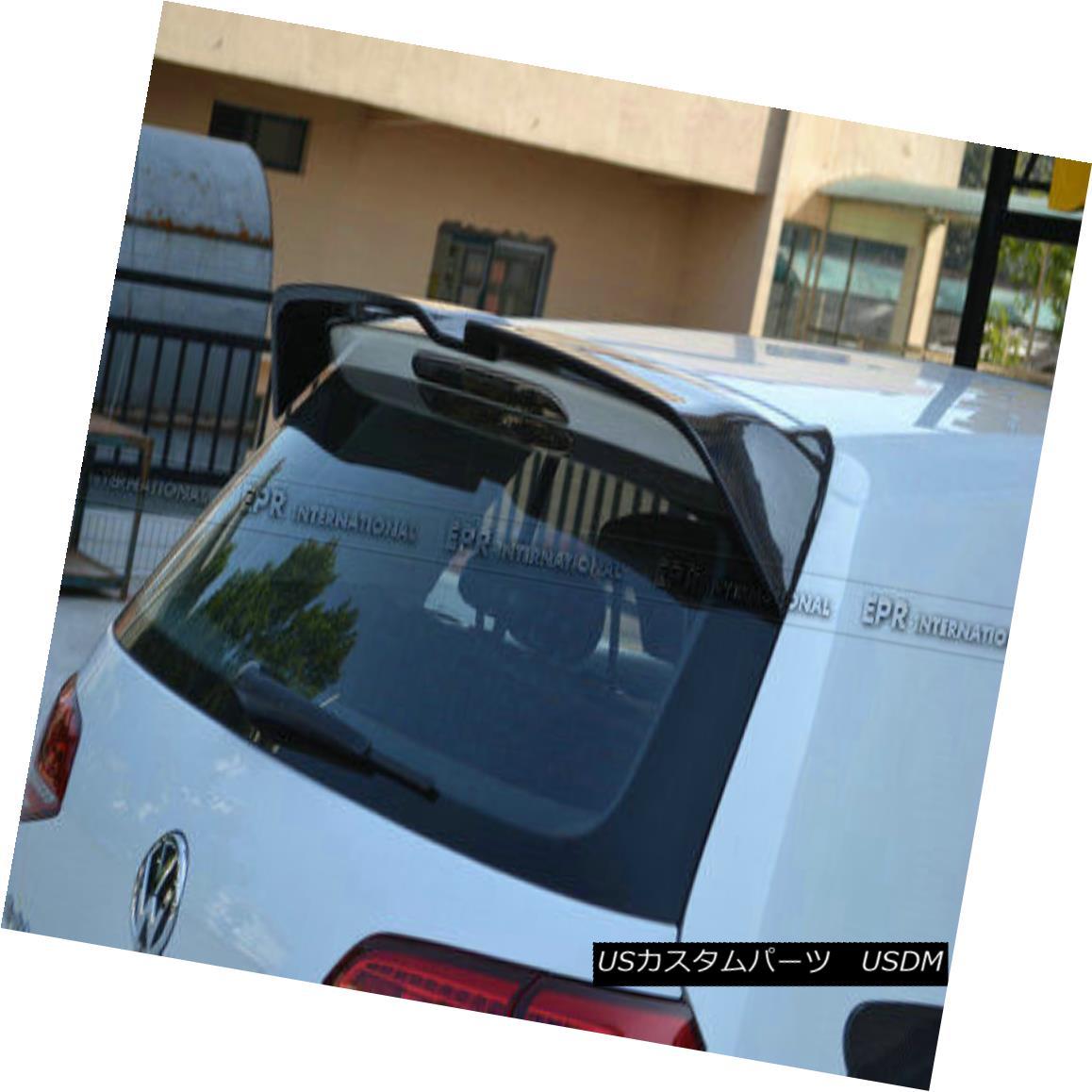 エアロパーツ AER Rear Trunk Spoiler Wing For VOLKSWAGEN VW Golf 7 TSI OET Style Carbon Fiber フォルクスワーゲンVWゴルフ用AERリアトランク・スポイラー・ウィング7 TSI OETスタイル・カーボン・ファイバー