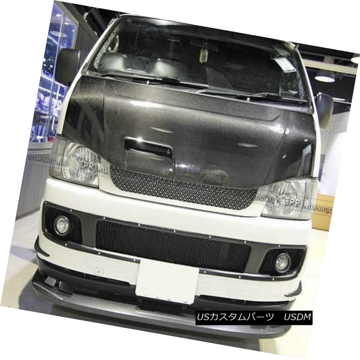 エアロパーツ AERest Vented Hood Bonnet Body Kit For Toyota 2010 Hiace 200 Carbon Fiber Racing トヨタ2010ハイエース200カーボンファイバーレーシング用AEREST Vented Hoodボンネットボディーキット