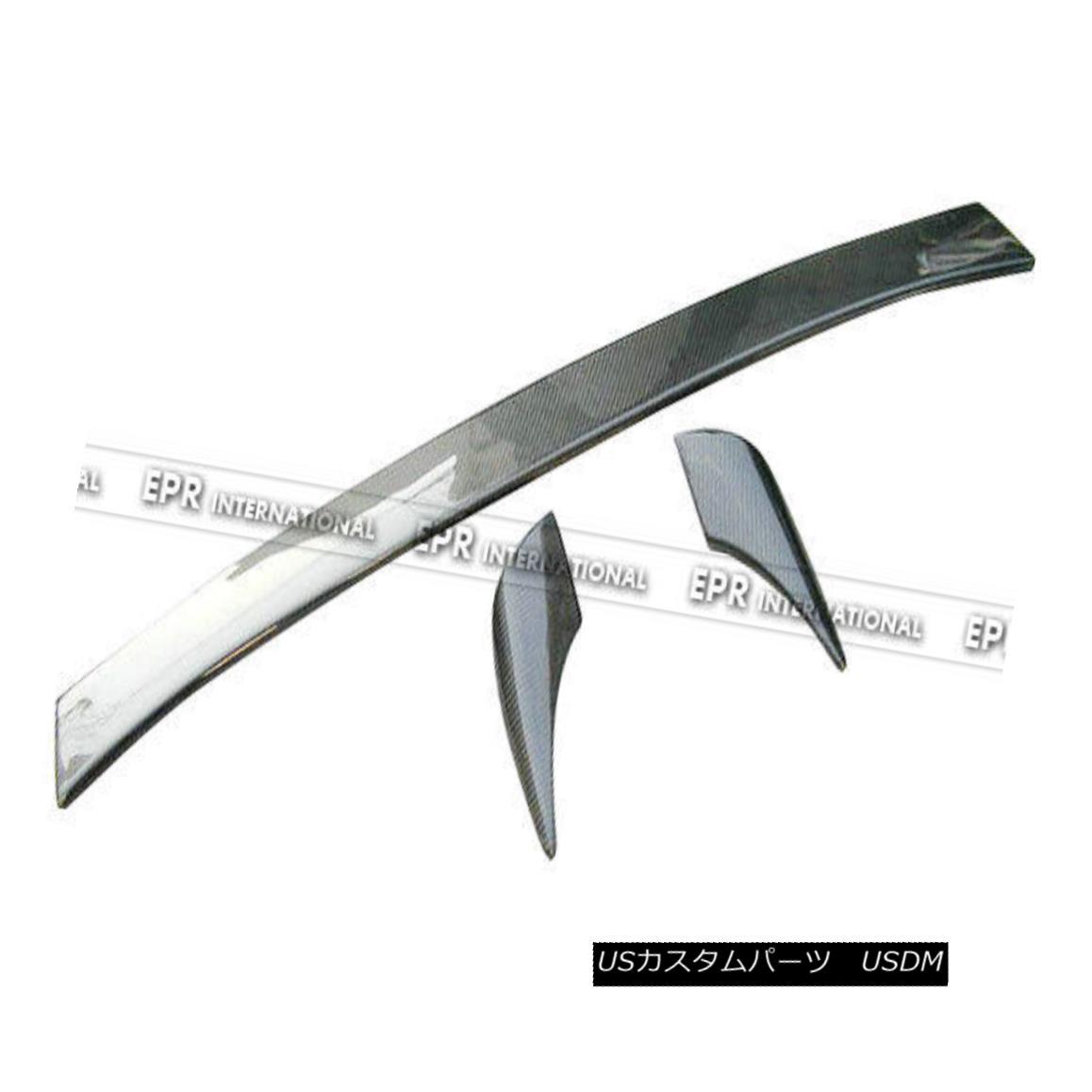 エアロパーツ ABC Origin Trunk Spoiler Wing Lip For Nissan 200SX S14 Silvia Carbon Fiber Craft 日産200SX S14のためのABC起源トランクスポイラーウイングリップシルビア炭素繊維工芸品