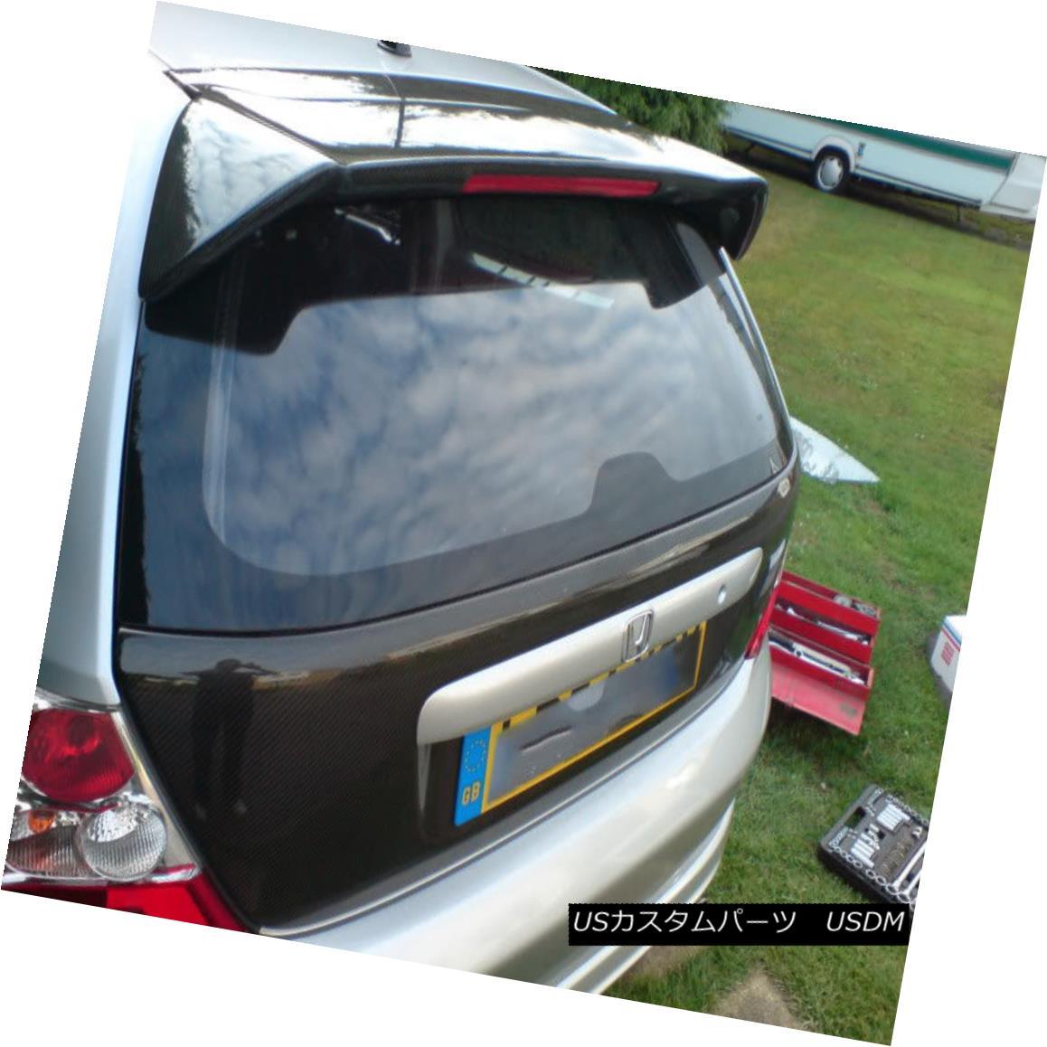 Hatch Honda Rear lights ABC Hatch 01-05 For Civic EP エアロパーツ Carbon Civic OEMカーボン・リア・スポイラー(ブレーキライト付き) OEM EP ホンダ用ABC wbrake With Spoiler 01-05