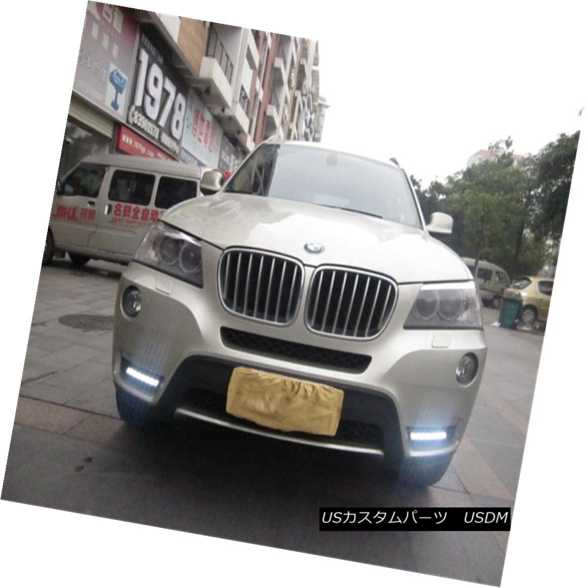 車用品 バイク用品 >> パーツ 外装 エアロパーツ その他 DRL Parts LED Driving Daytime Running BMW 2009-2013用昼間走行灯 新着 Lamp Lights DRLパーツBMW ランプ駆動LED F25 X3 For 2009-2013 ギフ_包装
