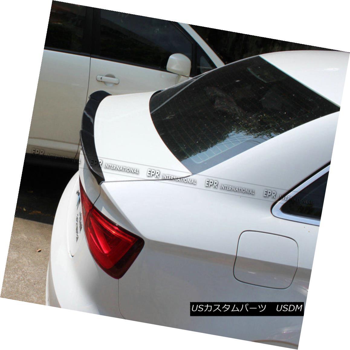数量限定価格!! エアロパーツ For Audi A3 Sedan V Sedan Style エアロパーツ 13-17 Carbon Spoiler Fiber Rear Trunk Spoiler Boot Lip Wing アウディA3セダンVスタイル13-17カーボンファイバーリアトランクスポイラーブーツリップウイング用, IMPORTBRAND JP:02b72866 --- esef.localized.me