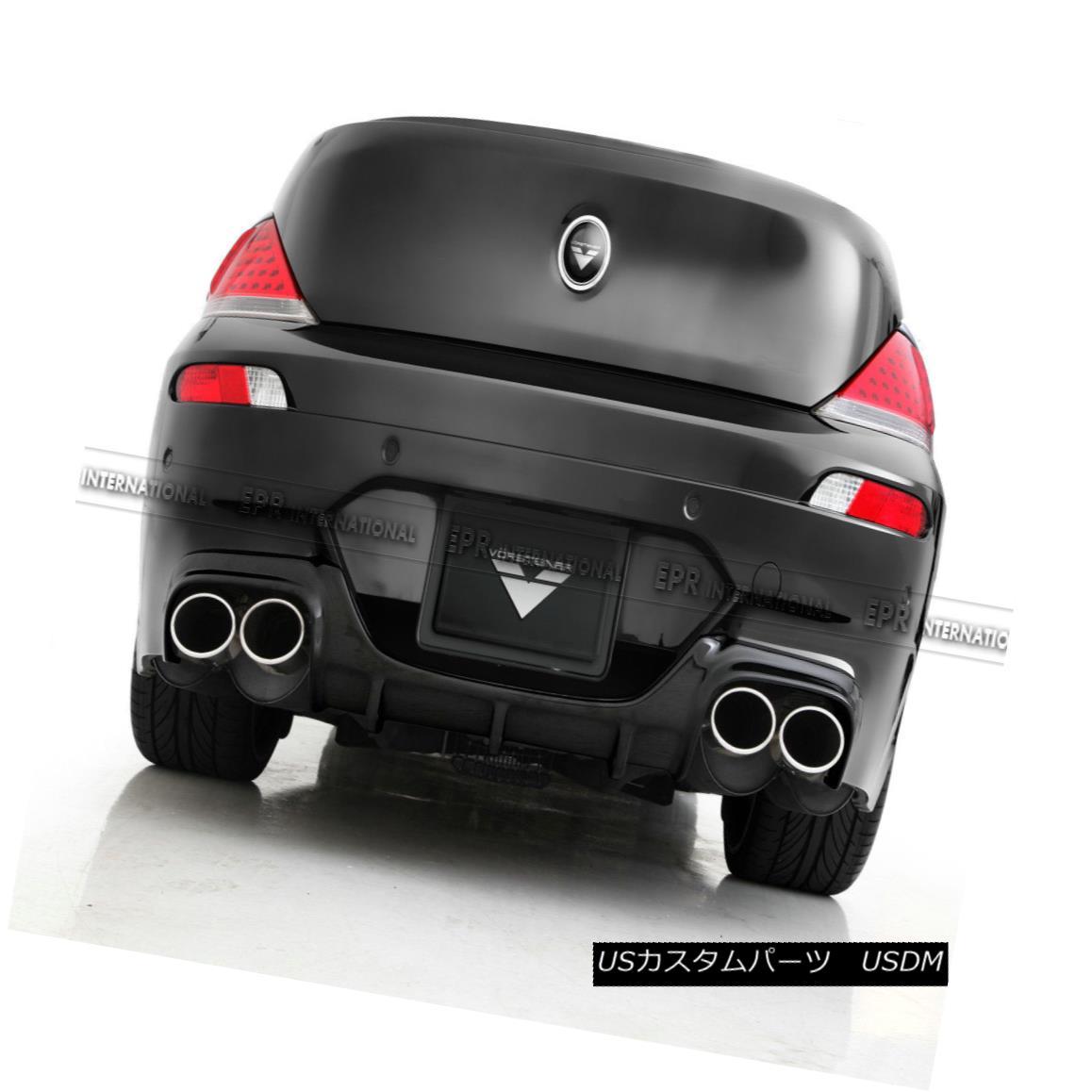 エアロパーツ Carbon Fiber Rear Diffuser Under Lip Kit For BMW E64 Soft top M6 VOR Style BMW E64 ソフトトップ 用リップキットの炭素繊維リアディフューザーM6 VORスタイル