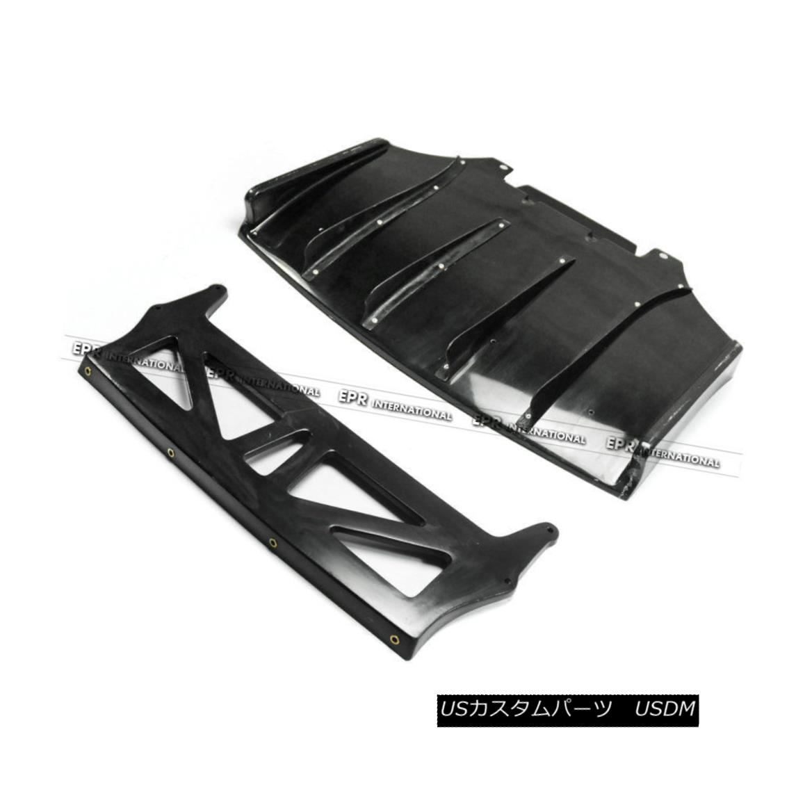 エアロパーツ Rear Bumper Diffuser Lip Kit For Mazda MX5 NA Miata Roadster JS-Style FRP Fiber マツダMX5のためのリアバンパーディフューザーリップキットNA MiataロードスターJSスタイルのFRPファイバー